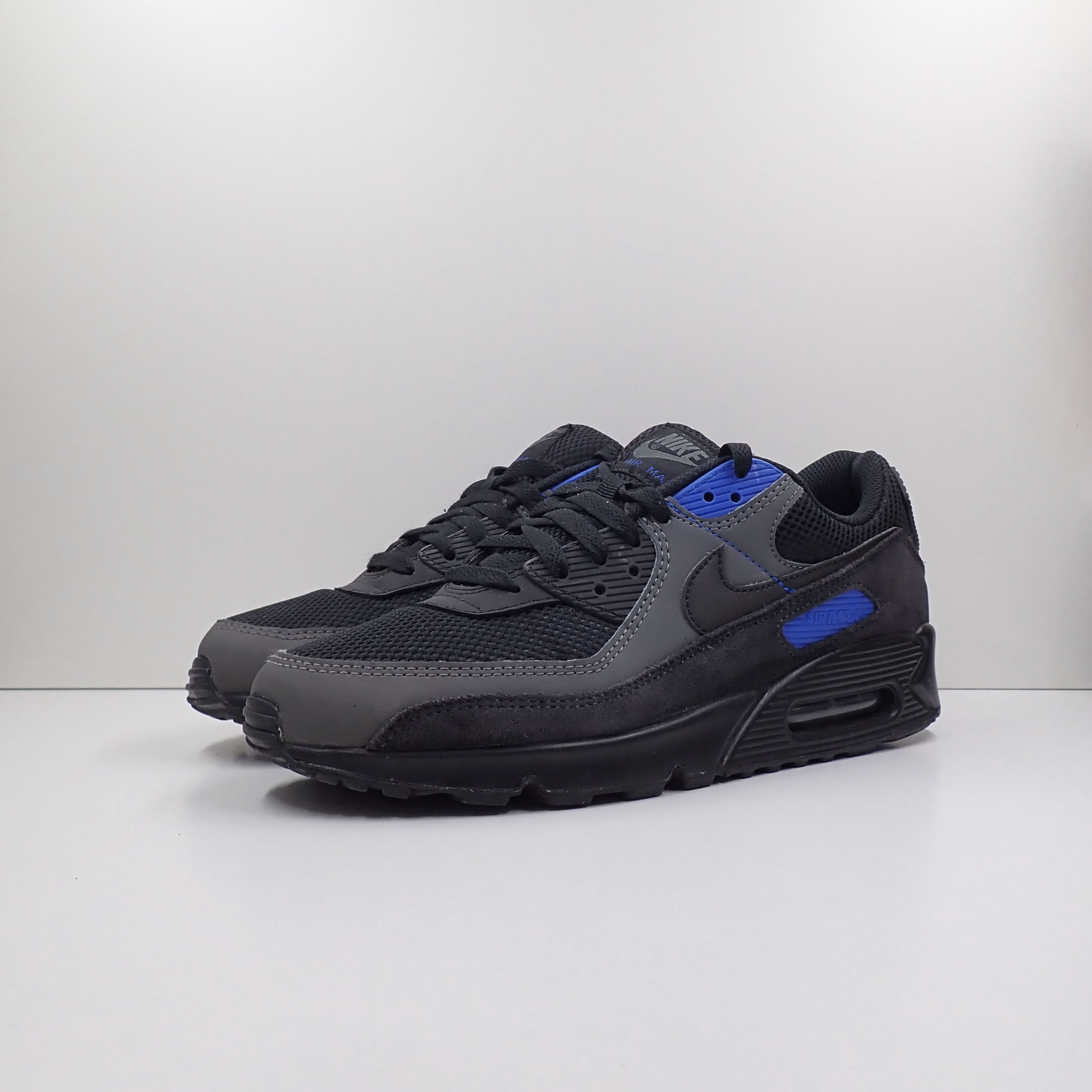 Nike Air Max 90 Black Hyper Royal