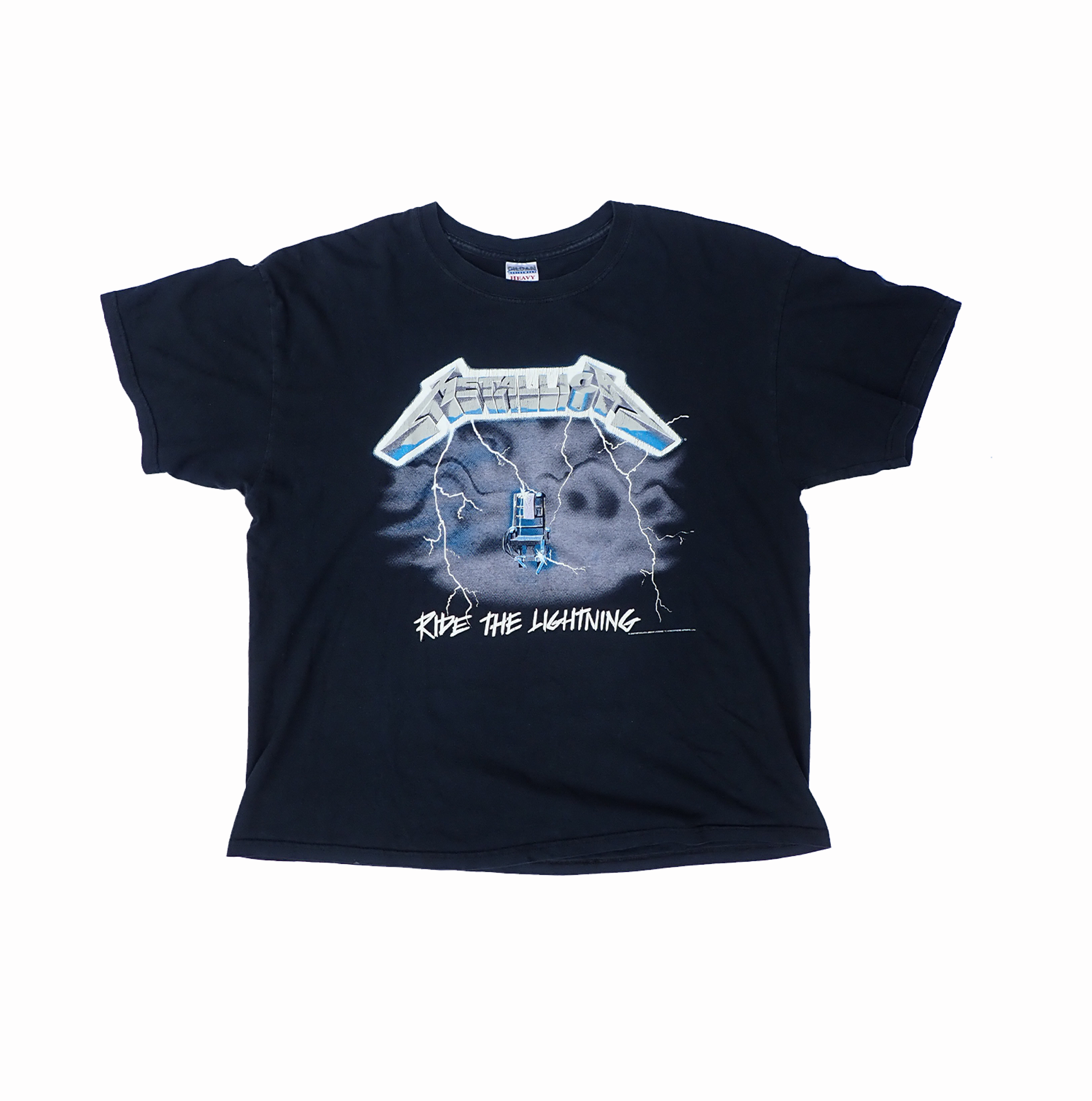 Metallica 2007 Ride the Lightning Tshirt