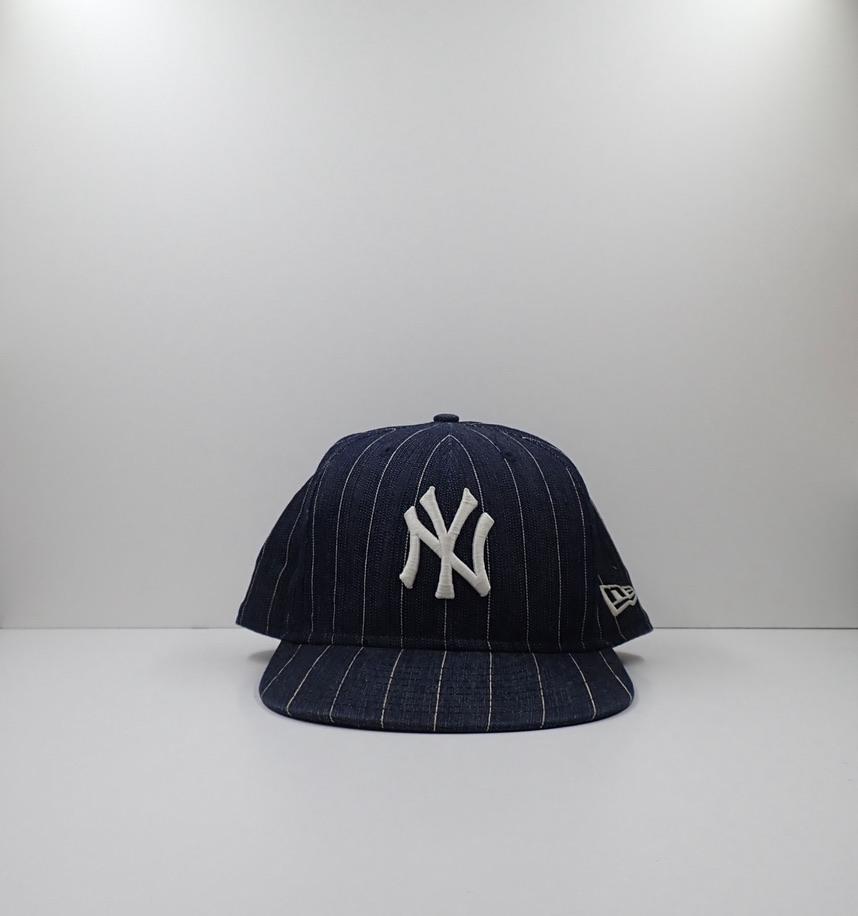 New Era 59fifty New York Yankees Striped Cap