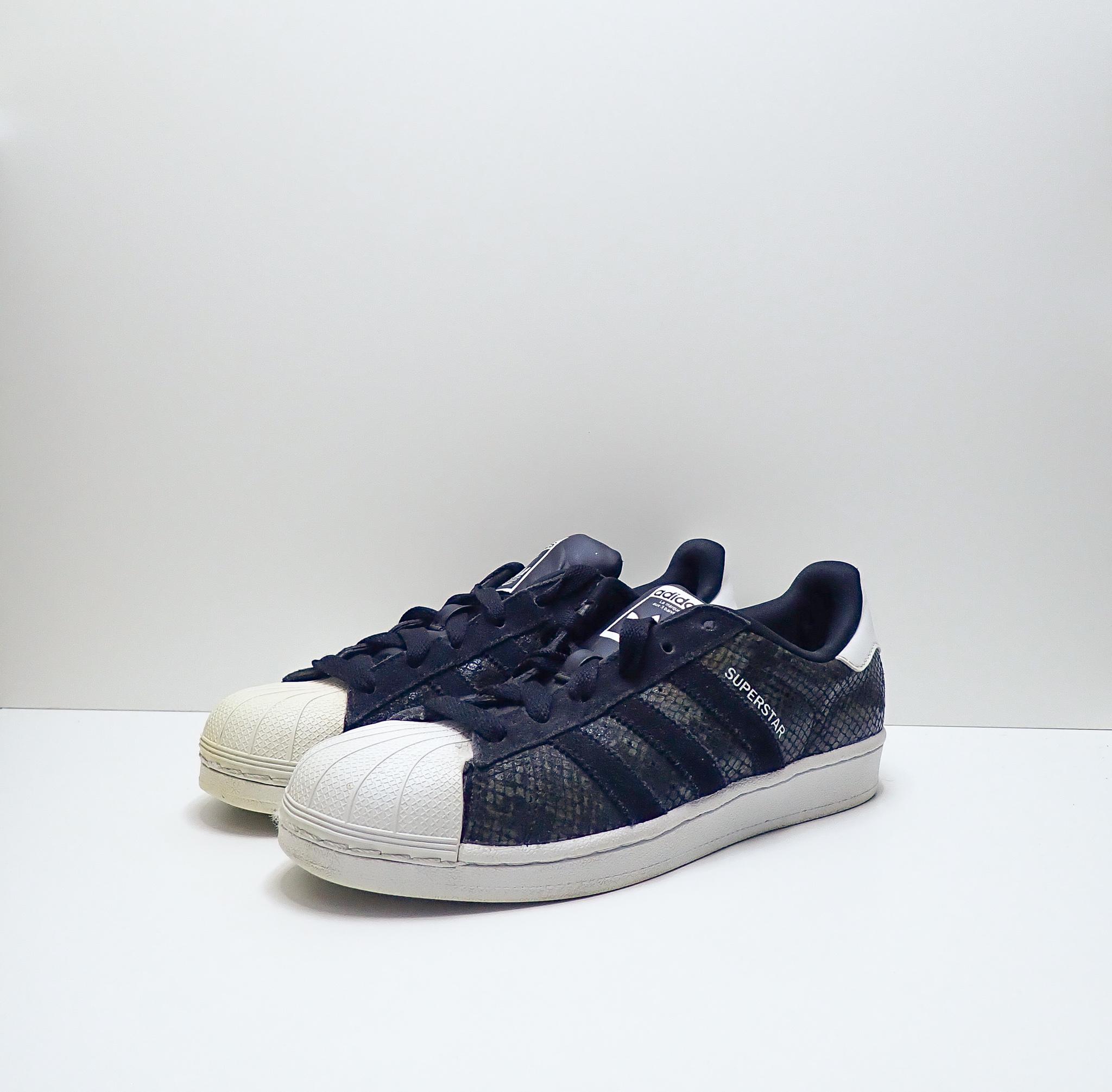 adidas Superstar (W) Black Snake