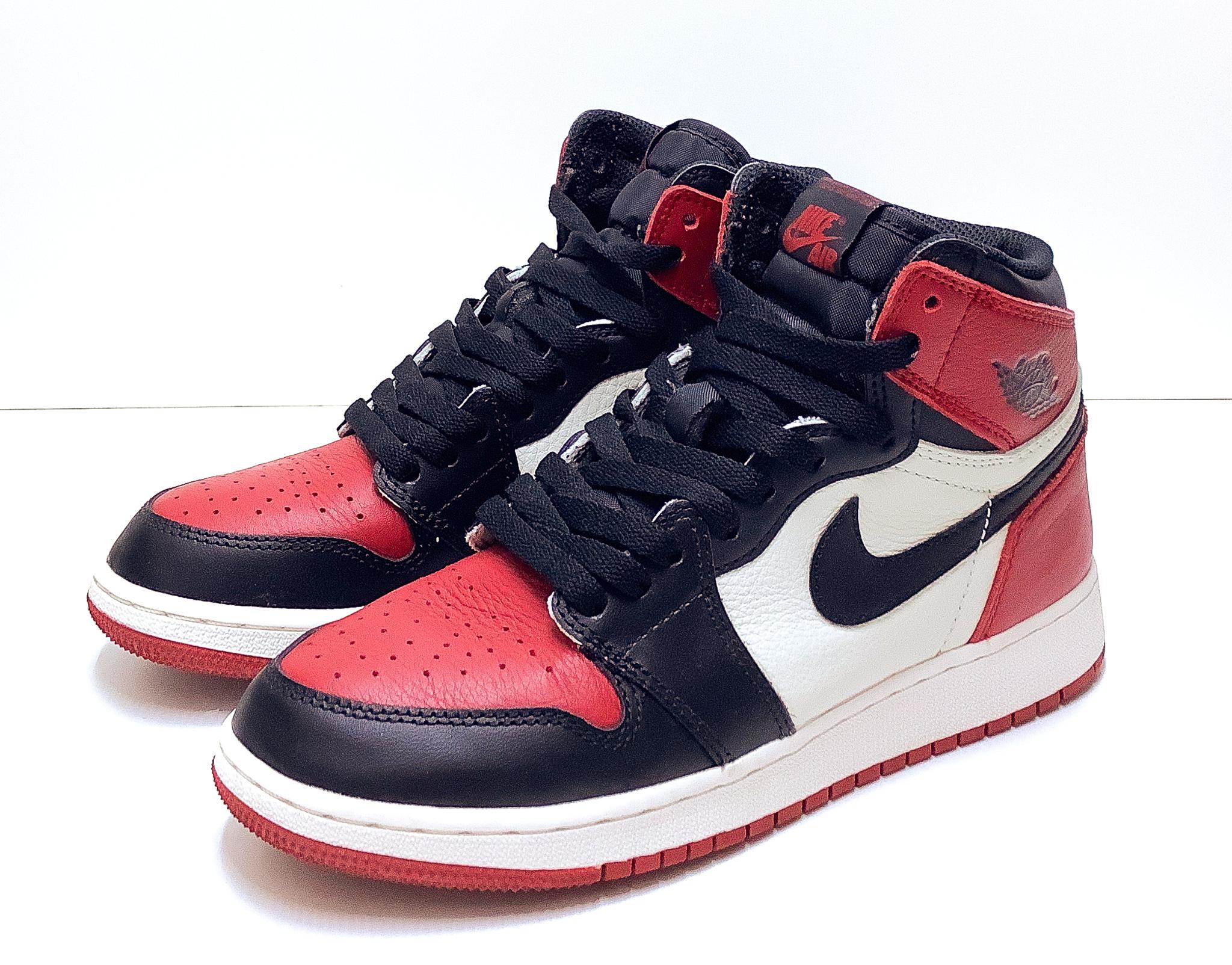 Jordan 1 Retro High Bred Toe (GS)