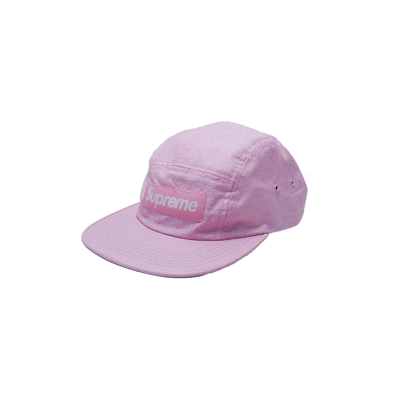 Supreme 5 Panel Camp Cap Pink Fuck Em All