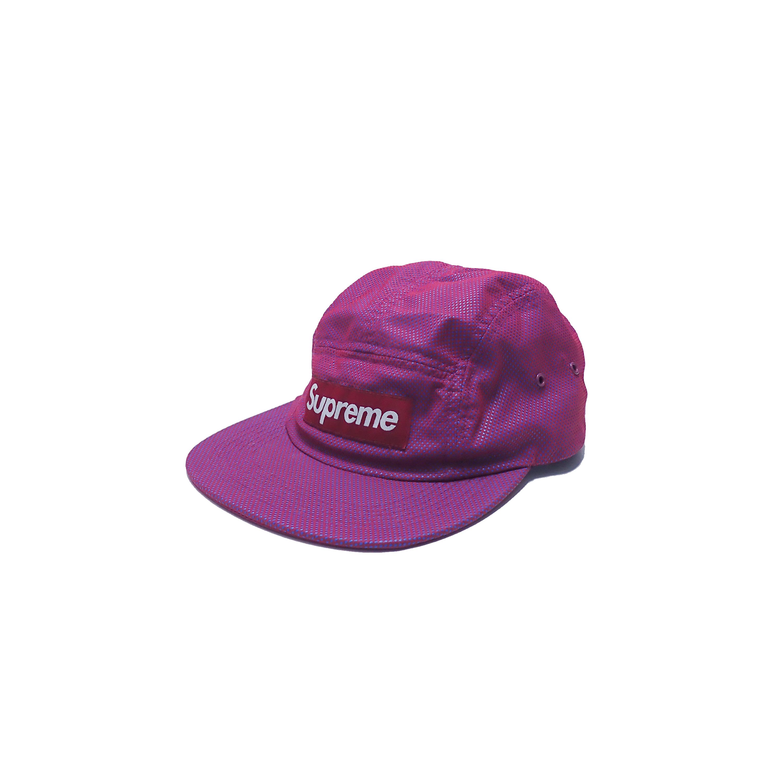 Supreme 5 Panel Camp Cap Purple