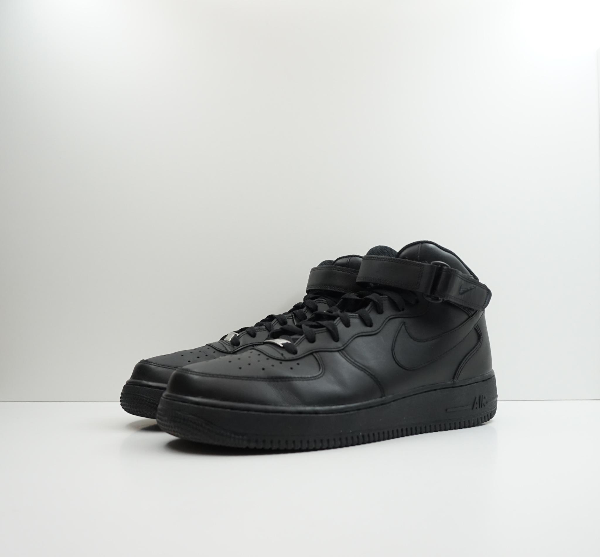 Nike Air Force 1 Mid Black (2016)