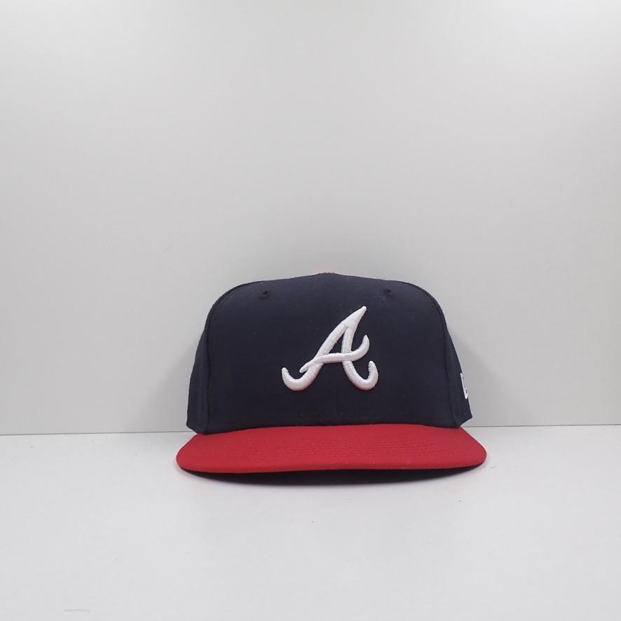 New Era MLB Atlanta Braves Fitted Cap