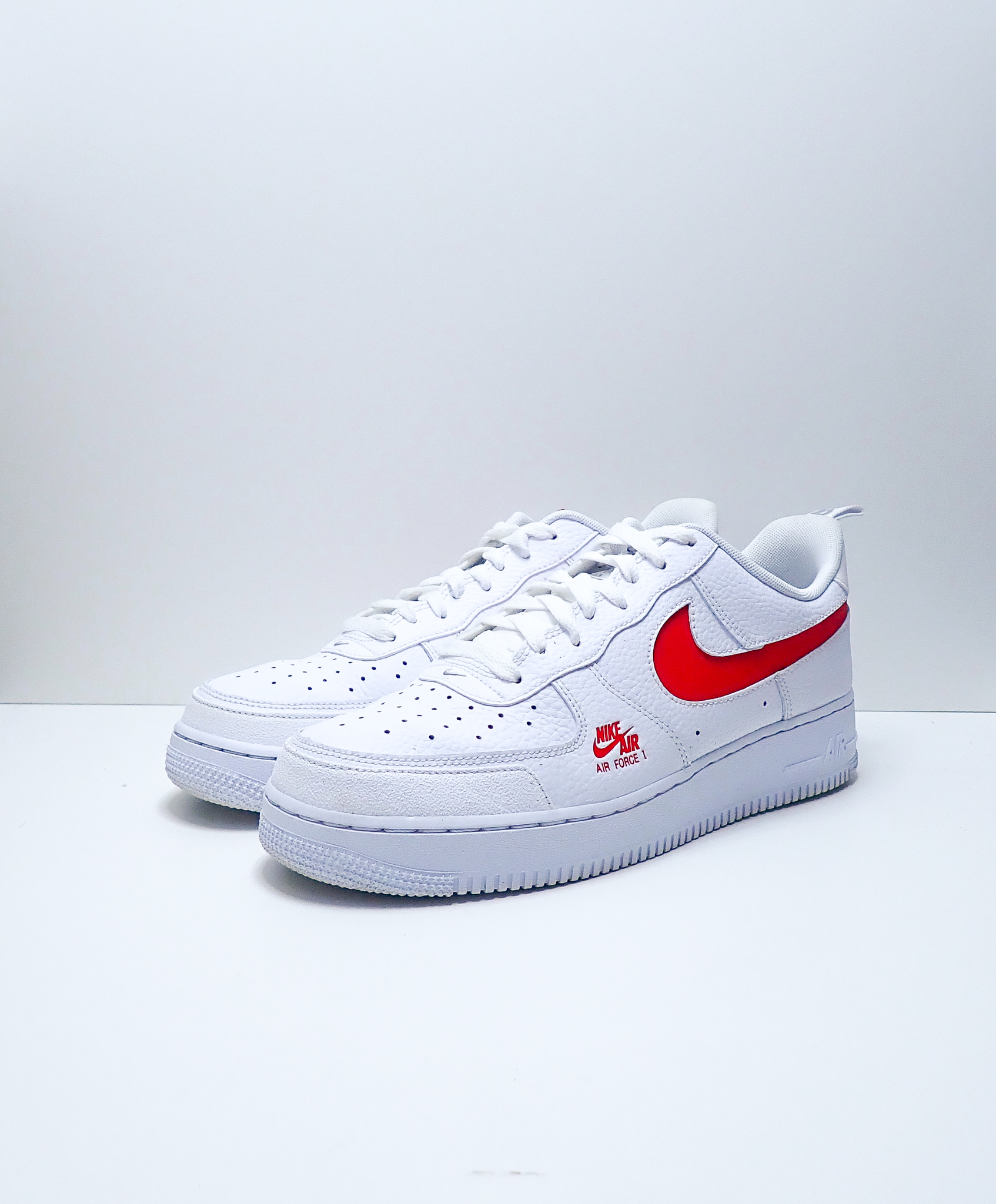 Nike Air Force 1 Low Utility White/Red