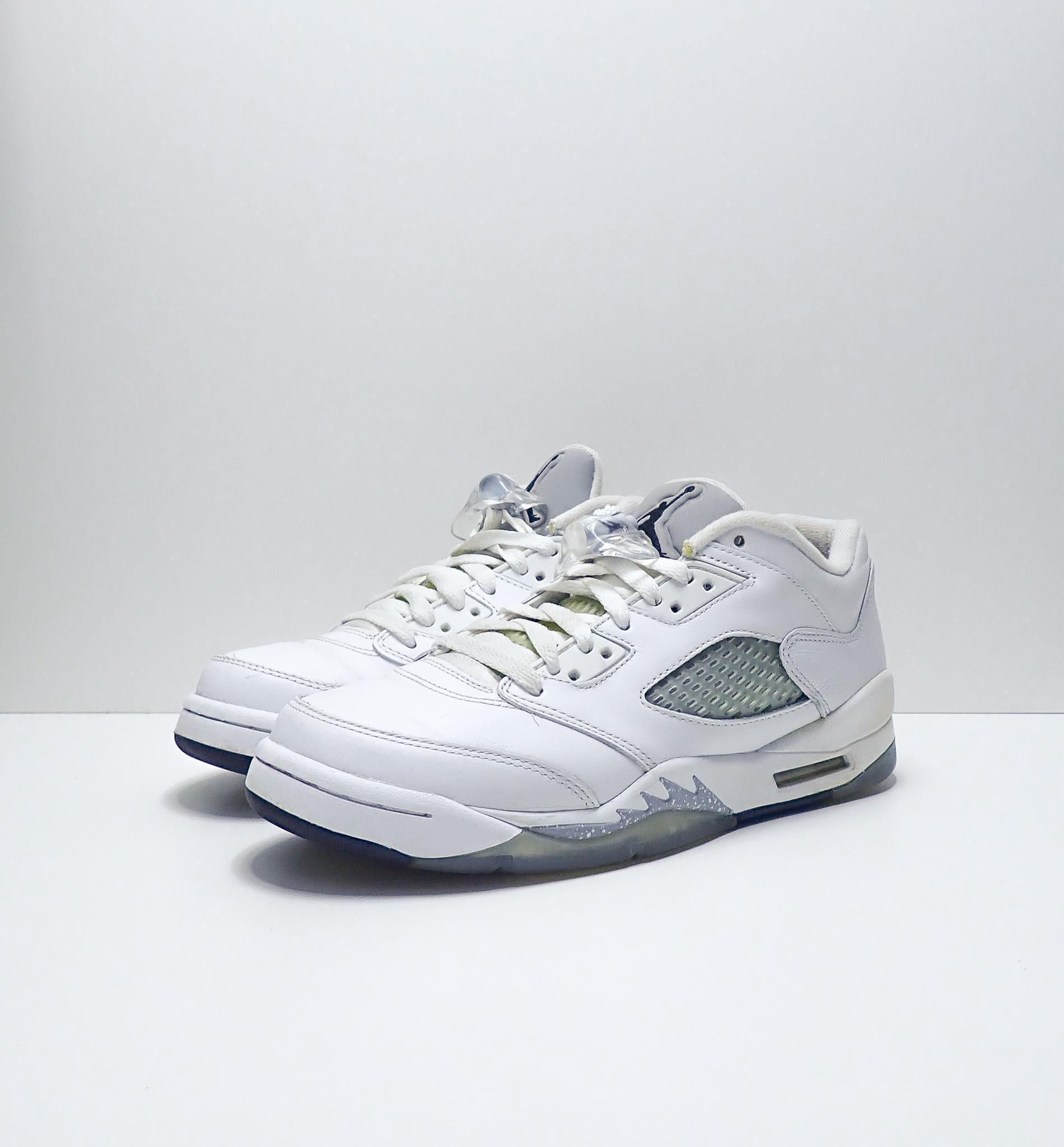 Jordan 5 Retro Low Wolf Grey