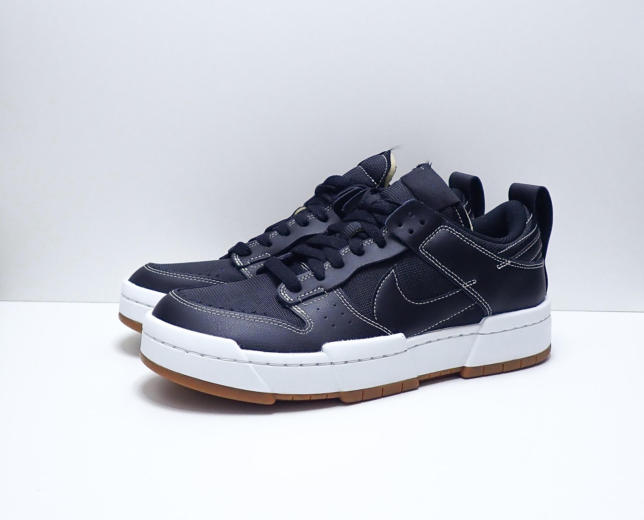 Nike Dunk Low Disrupt Black White Gum (W)