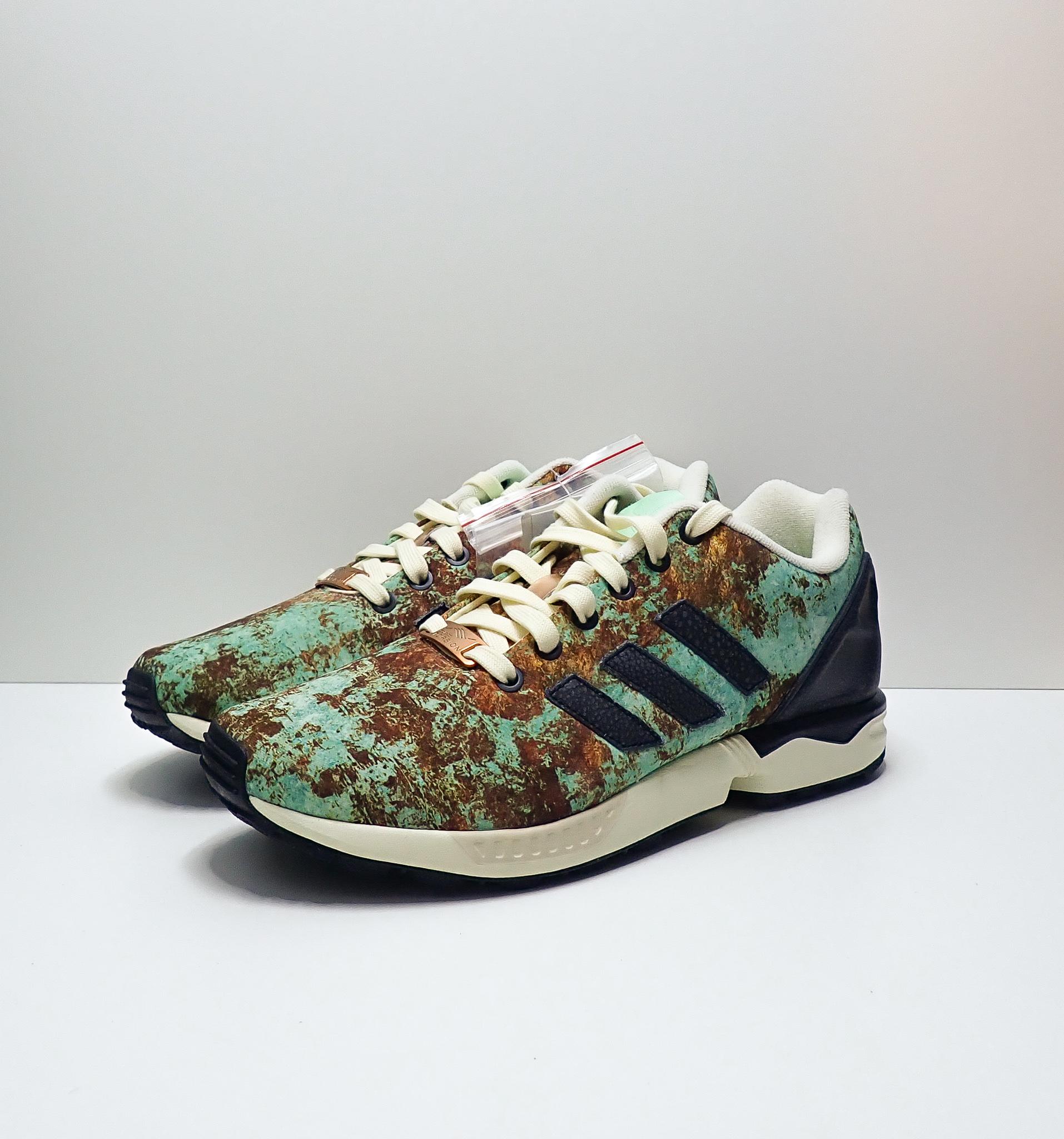 Adidas Sneakersnstuff x Originals ZX Flux Aged Copper