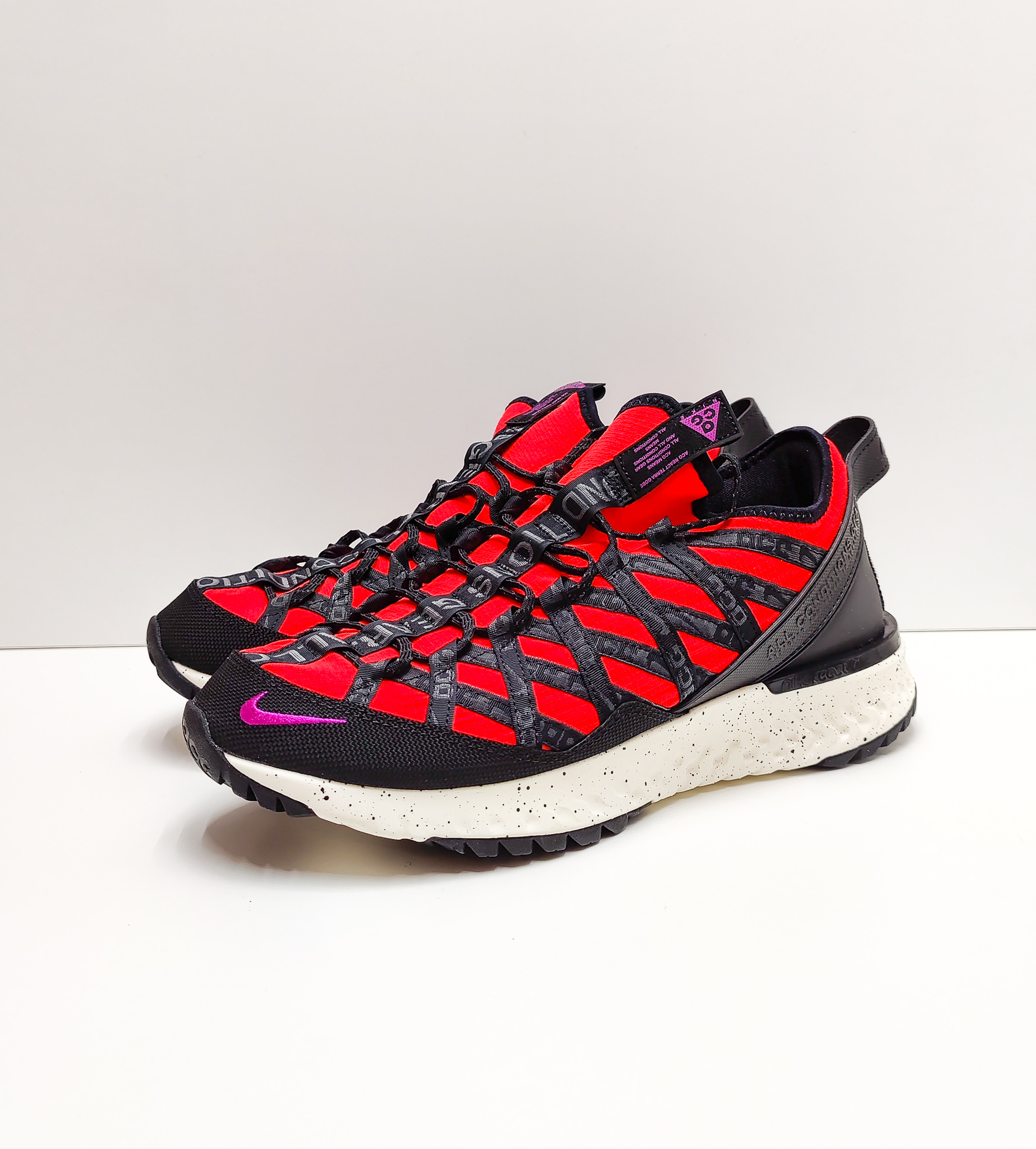 Nike ACG React Terra Gobe Bright Crimson