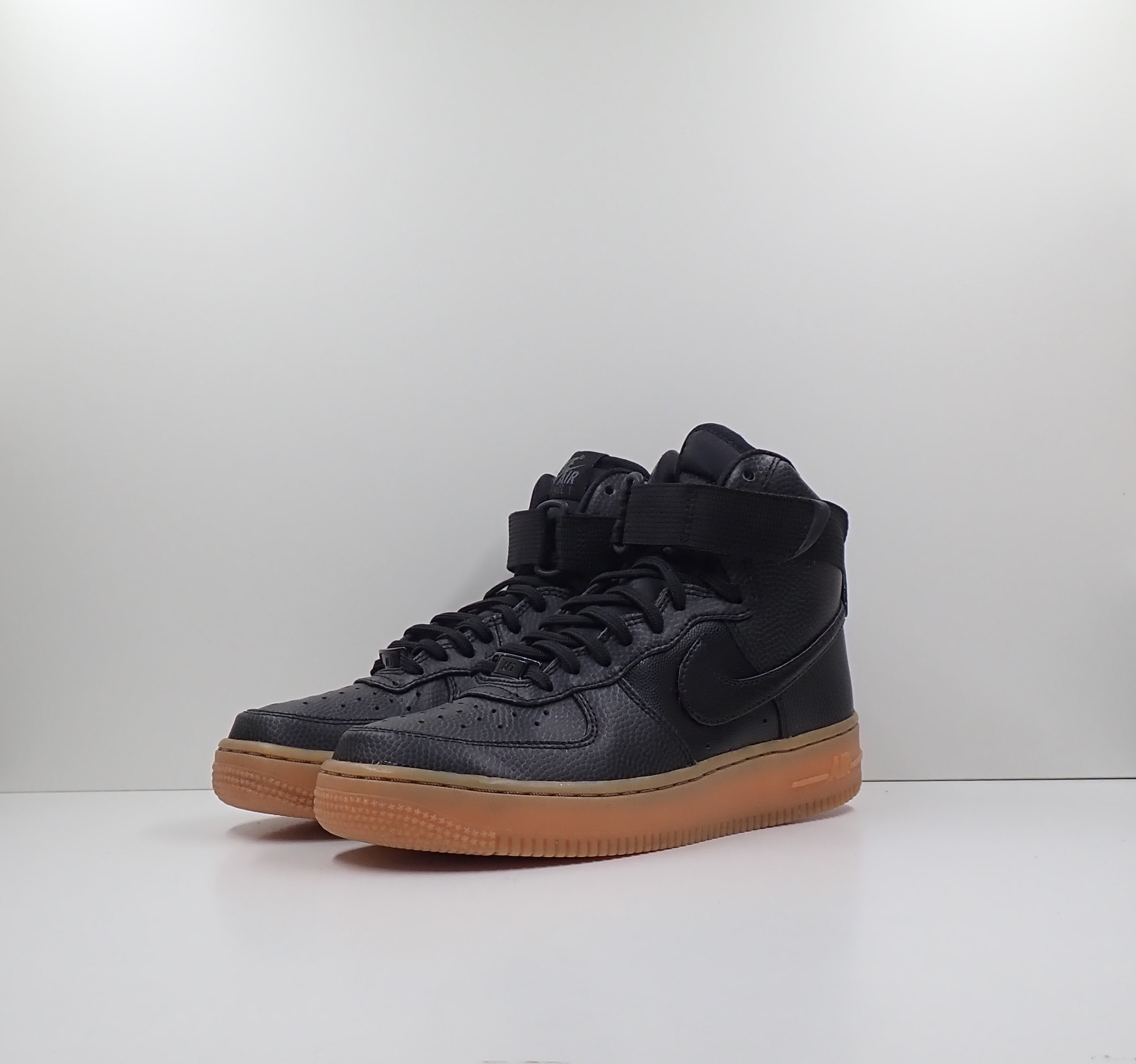 Nike Air Force 1 High Black Dark Grey Gum (W)