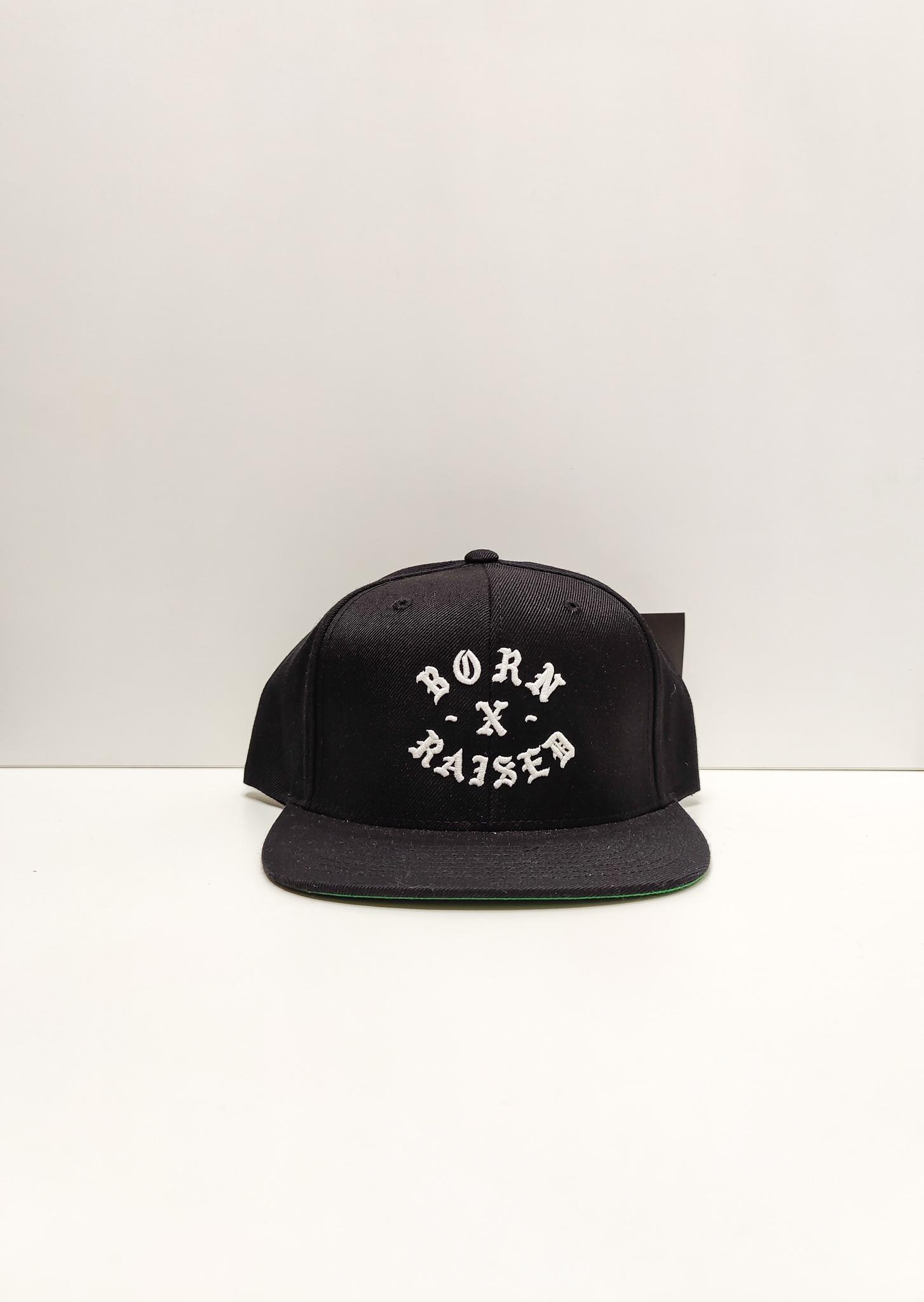 Born x Raised Starter Black Label Cap