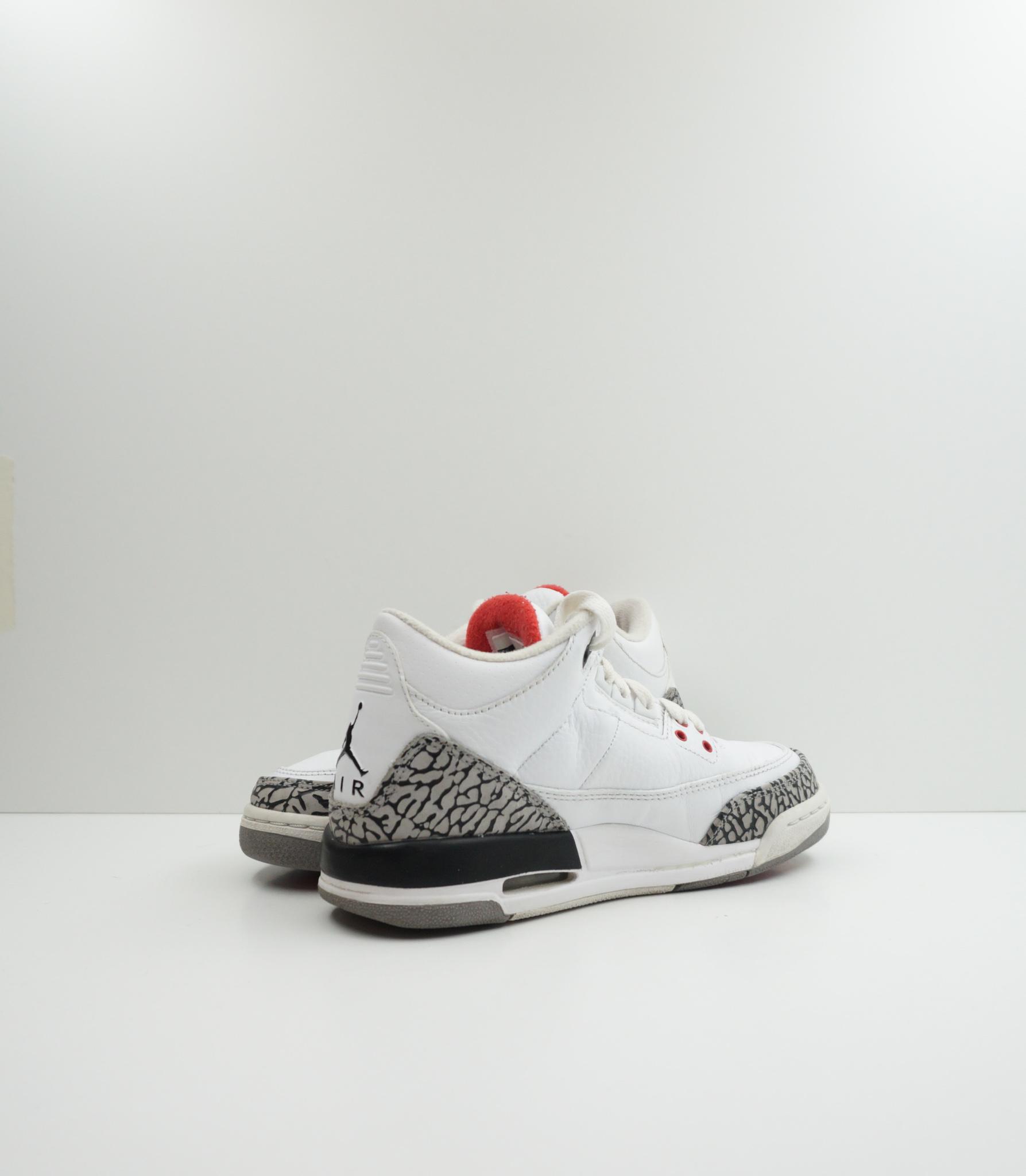 Jordan 3 Retro GS White Cement (2011)