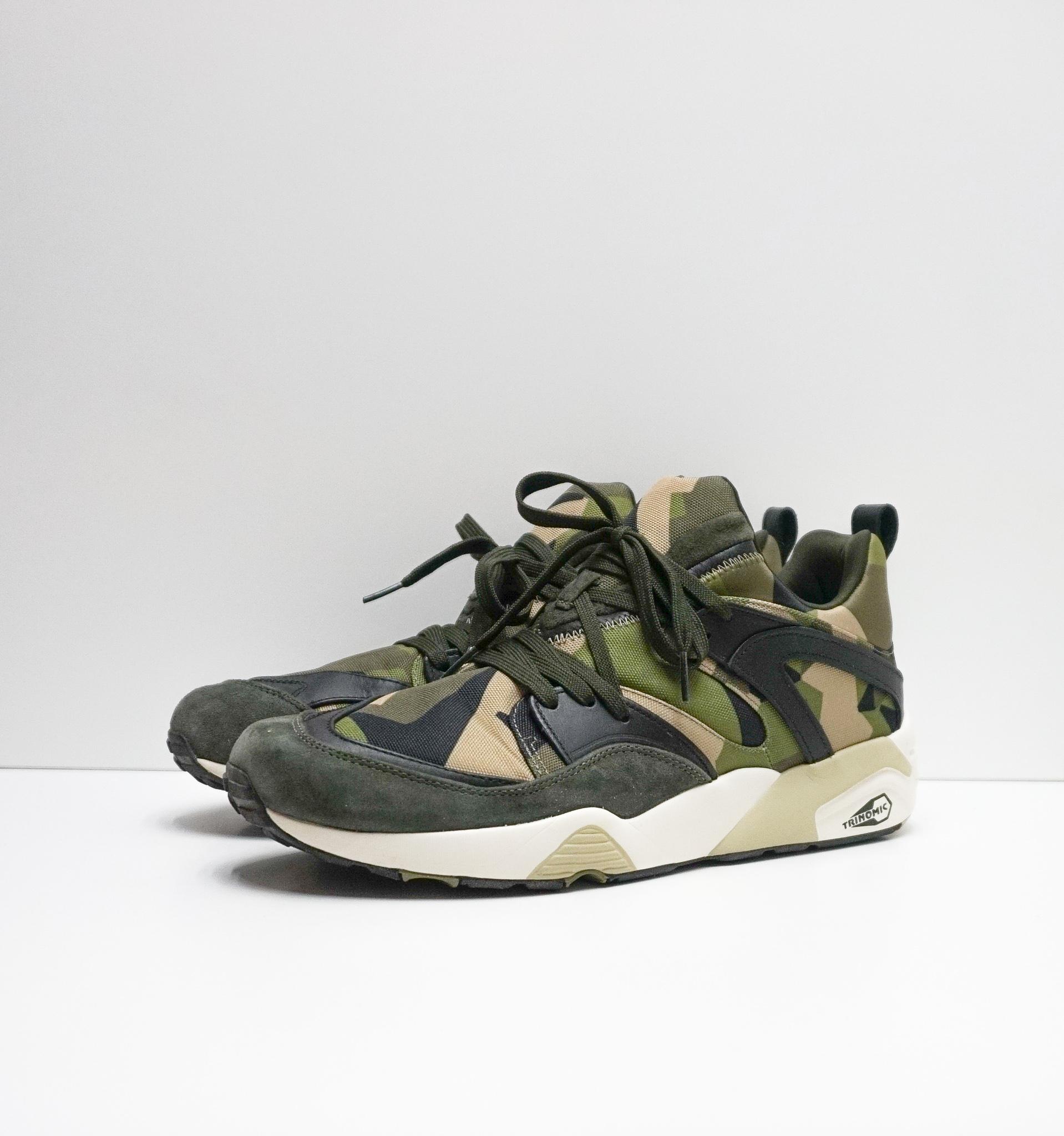 Sneakersnstuff X PUMA (Swedish Camo Pack)