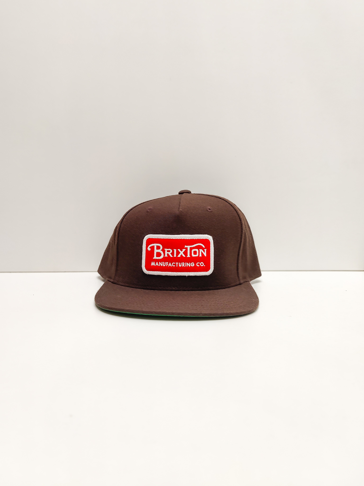 Brixton Keps Brown/Red