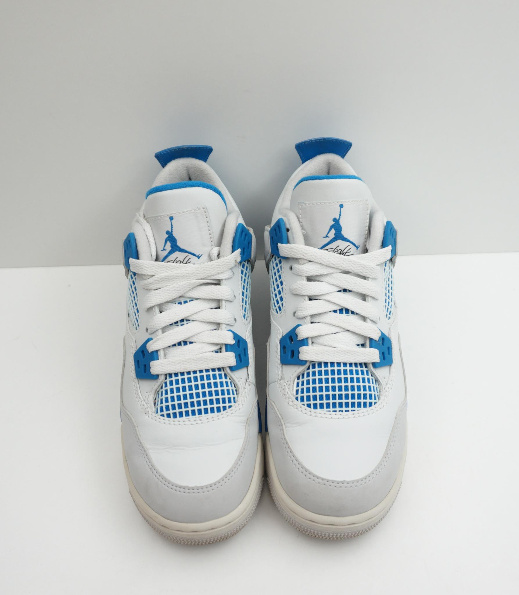 Jordan 4 Retro GS Military Blue (2012)