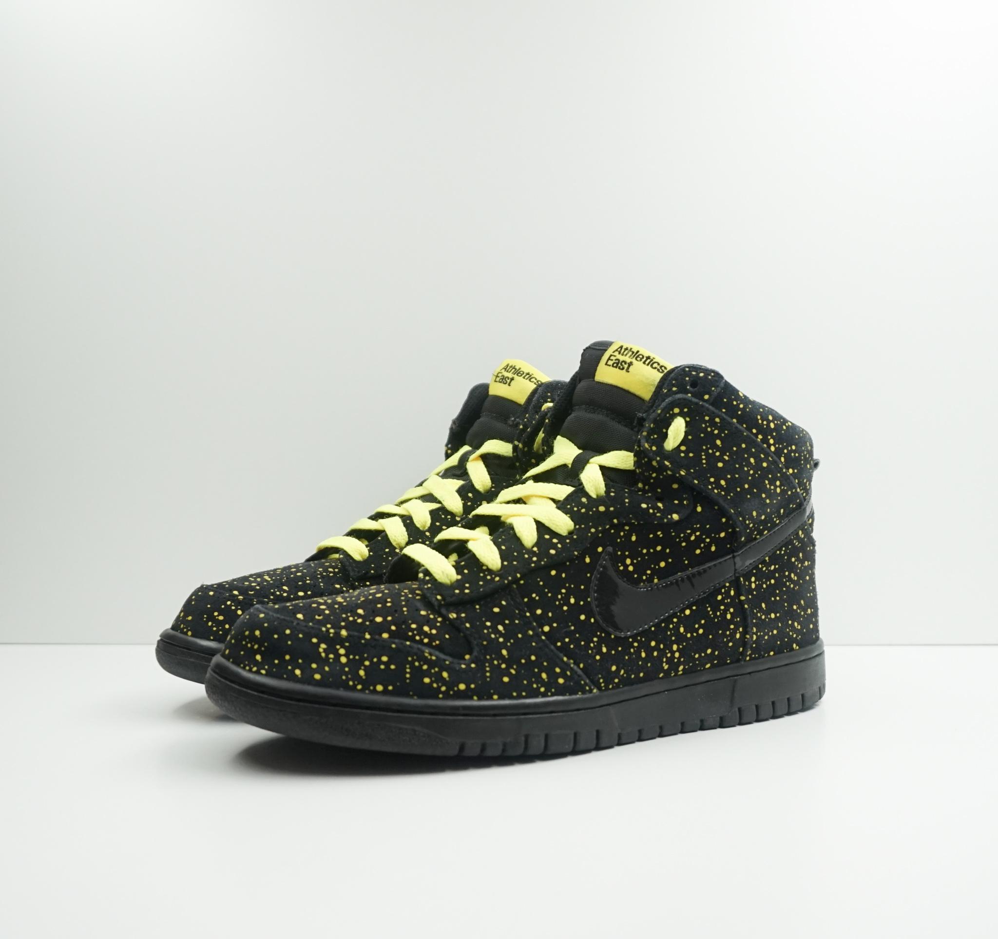 Nike Dunk High Premium Yellow Splatter