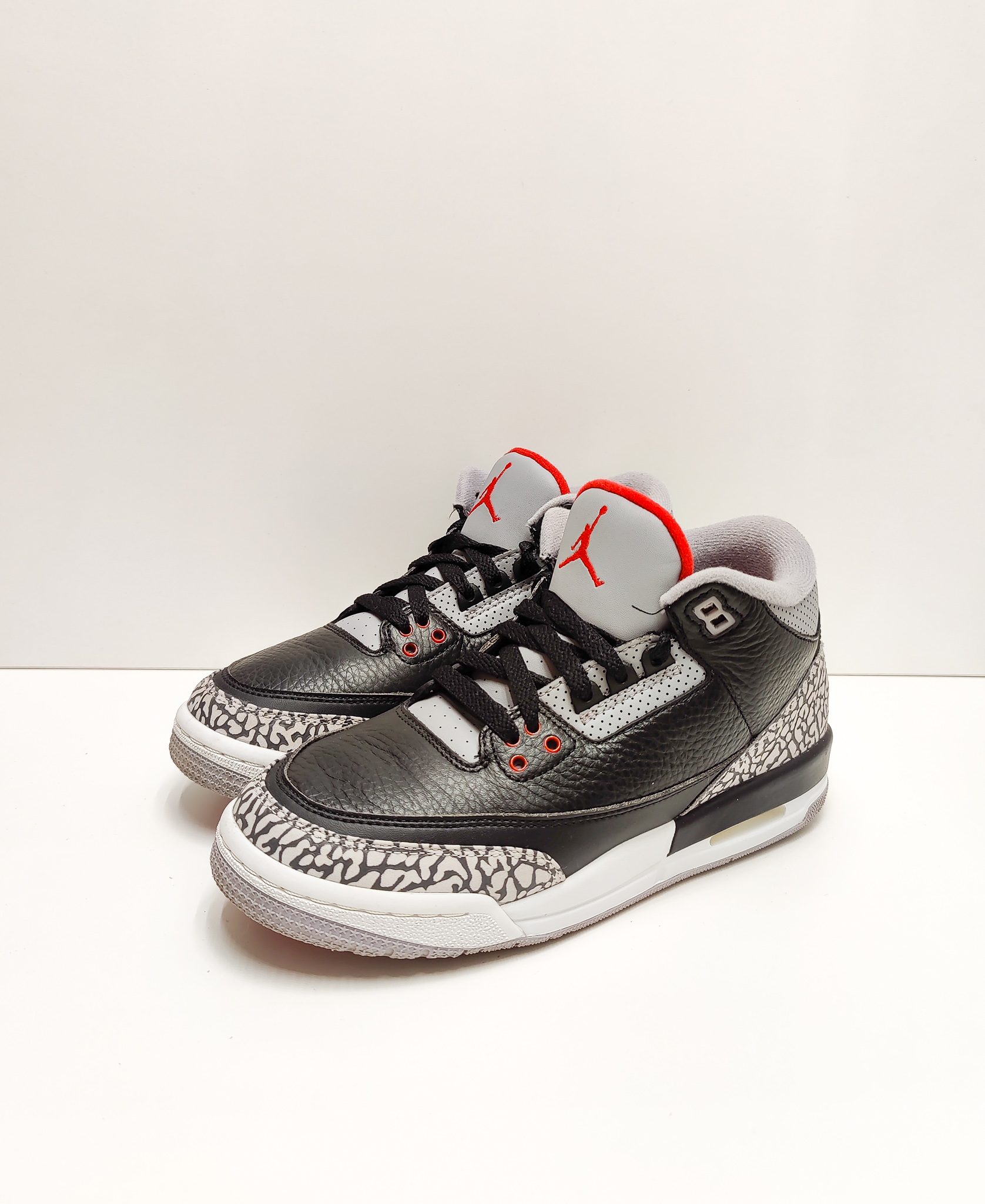 Jordan 3 Retro Black Cement GS