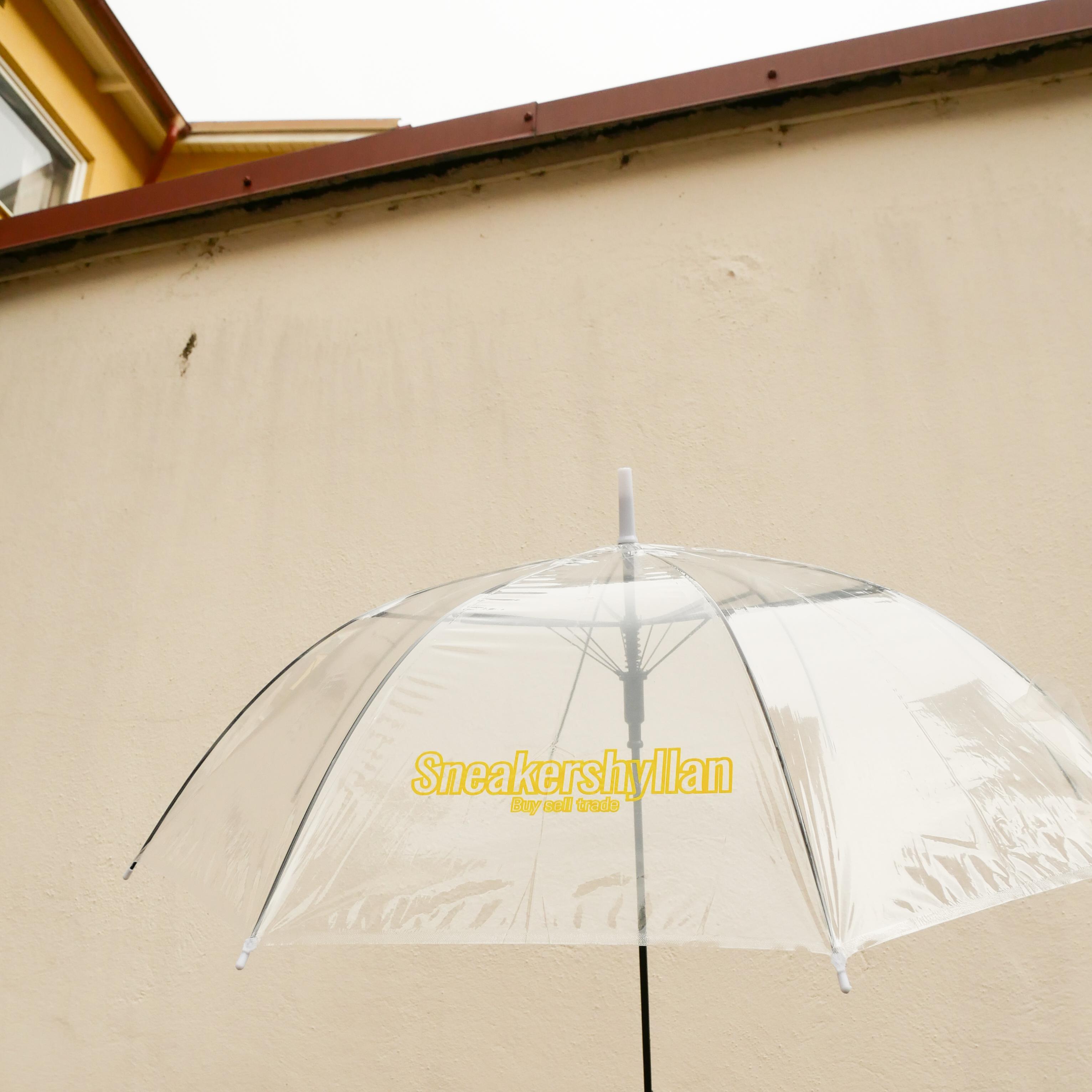 Sneakershyllan Transparent Umbrella