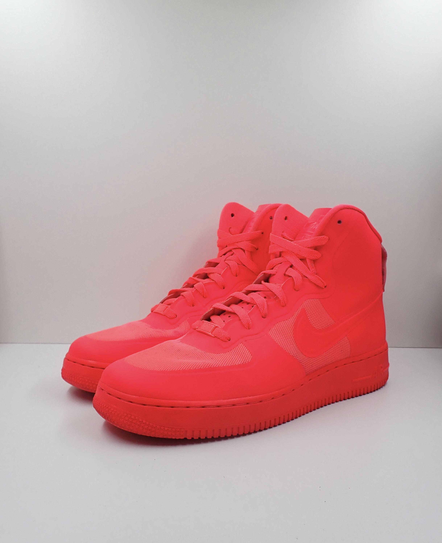 Nike Air Force 1 Hi Hyperfuse Premium Solar Red