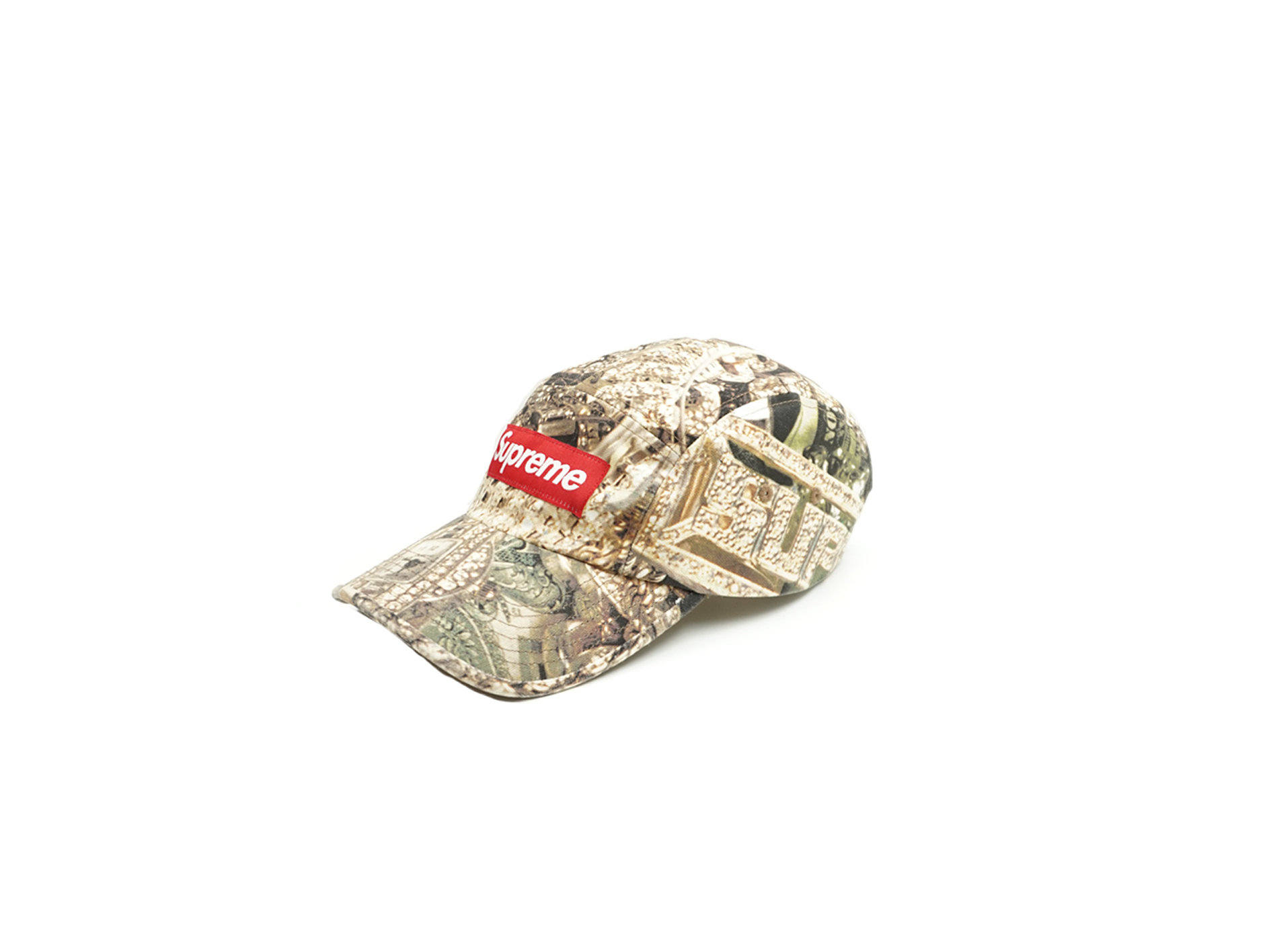 Supreme Bling Camp Cap