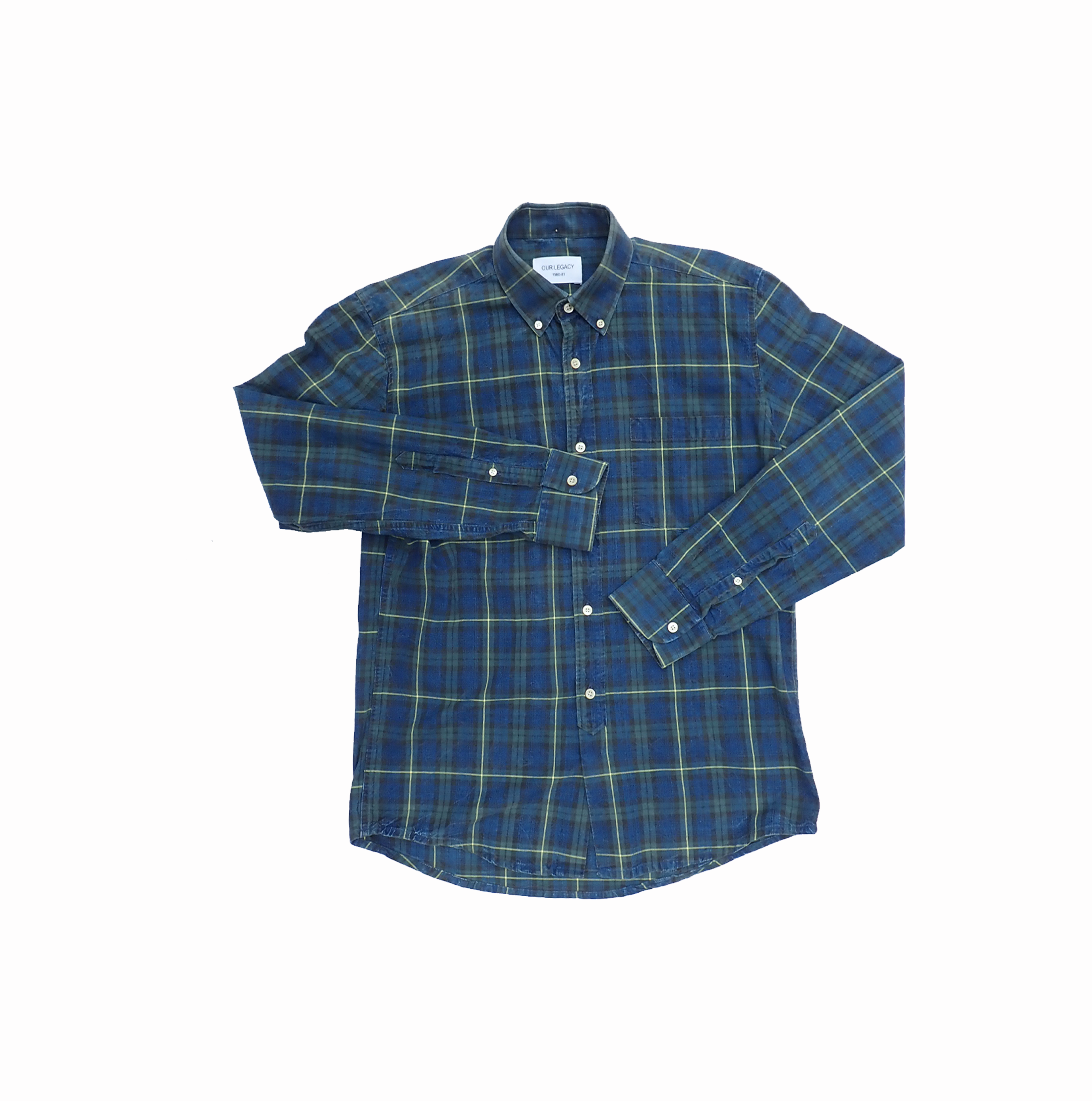Our Legacy Shirt 1980-81 Blue Green