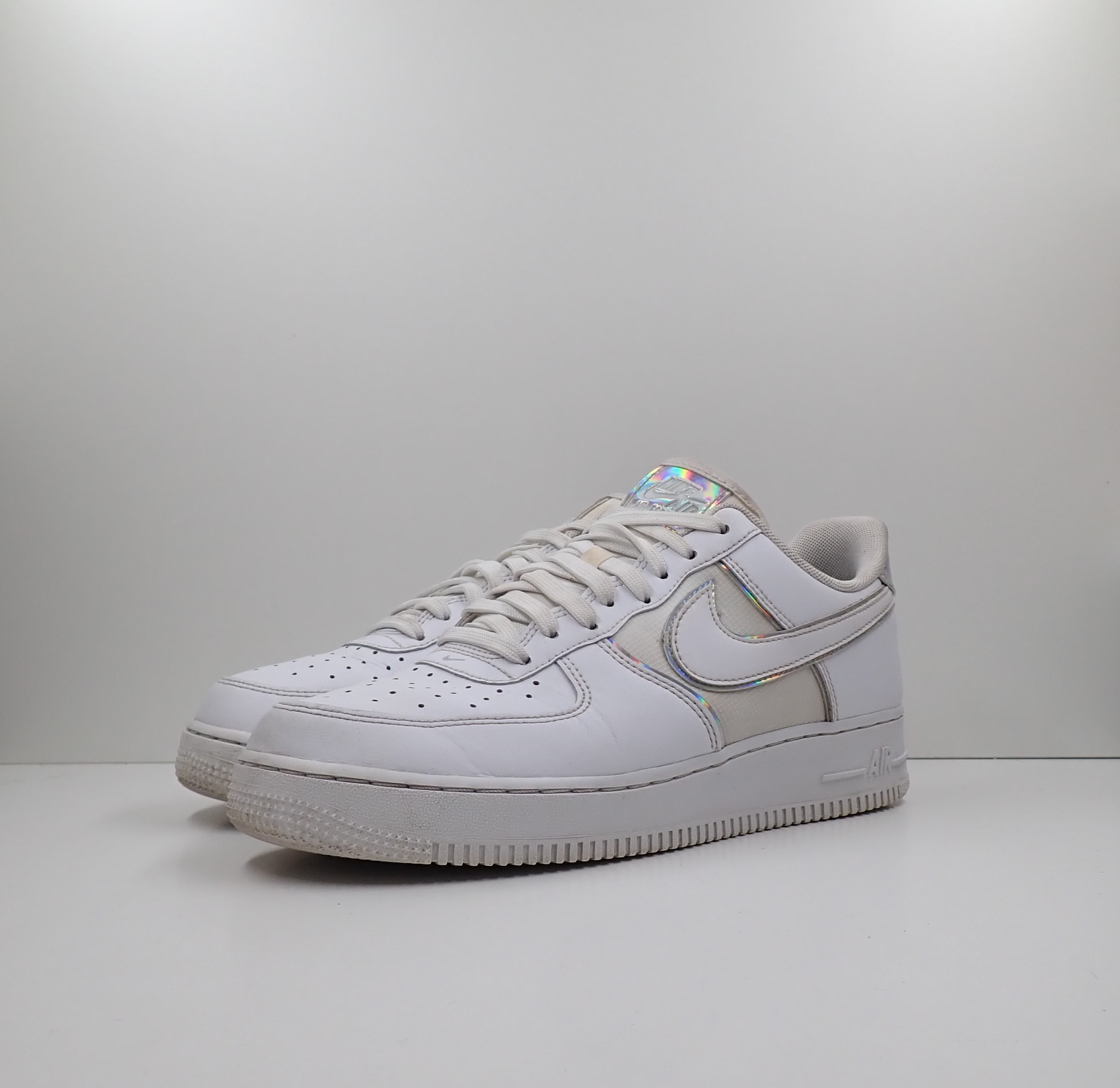 Nike Air Force 1 '07 LV8 4 White Silver