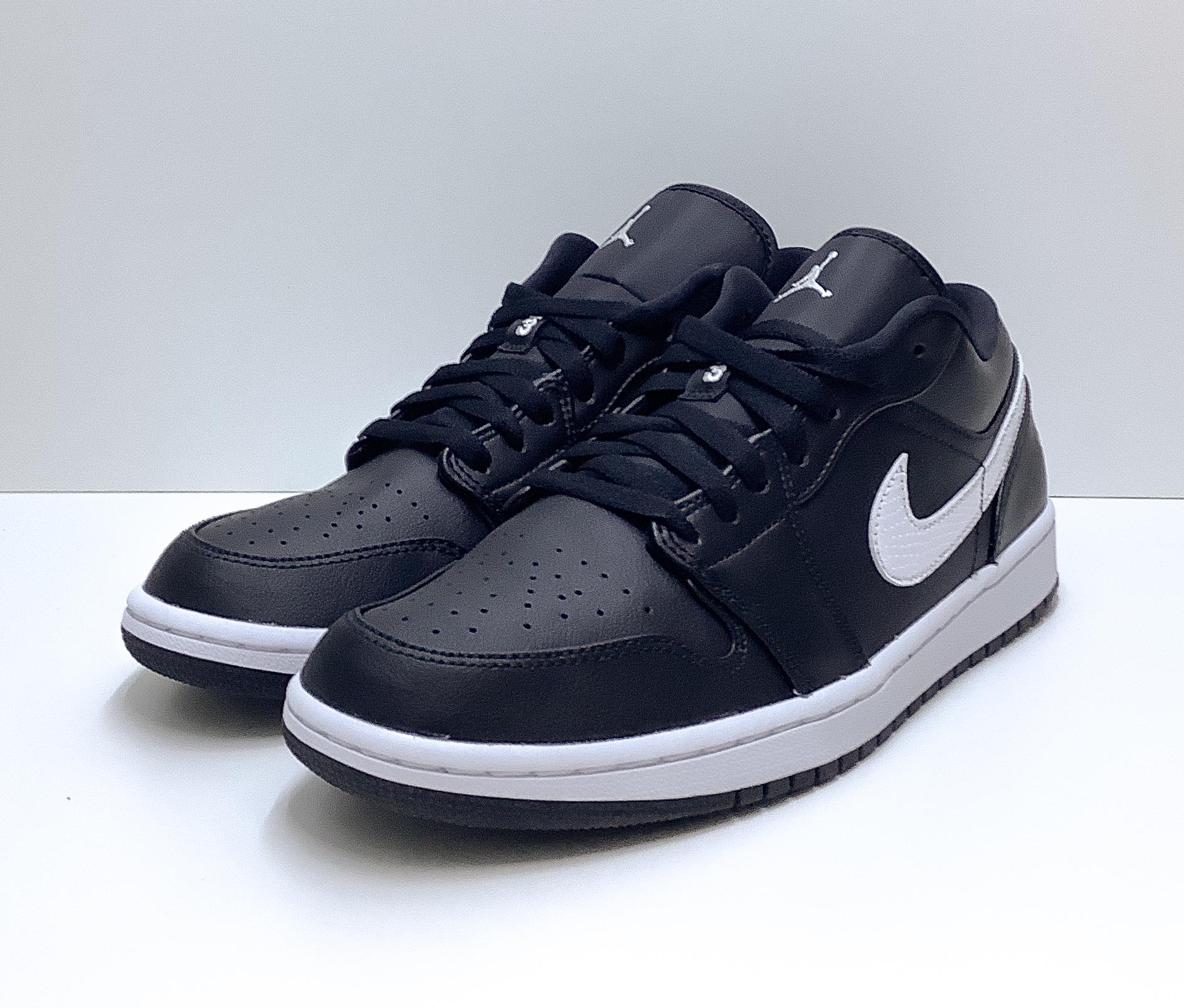 Jordan 1 Low Black White (W)