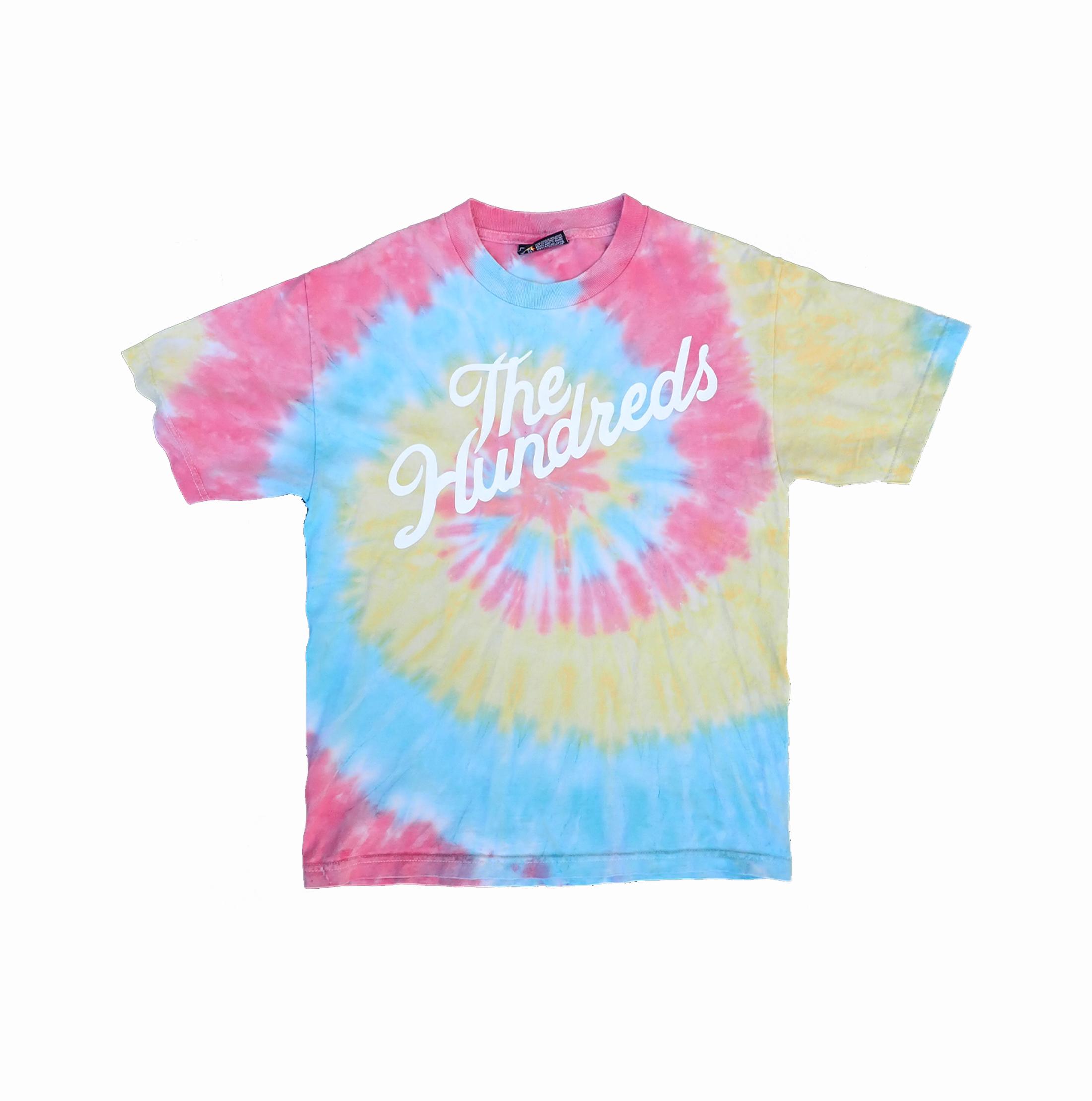 The Hundreds Tie Dye Logo Tshirt