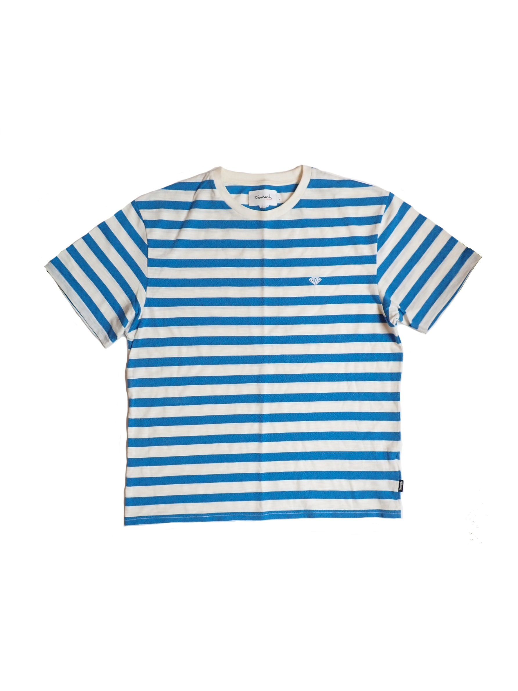 Diamond Supply Co Striped T Shirt