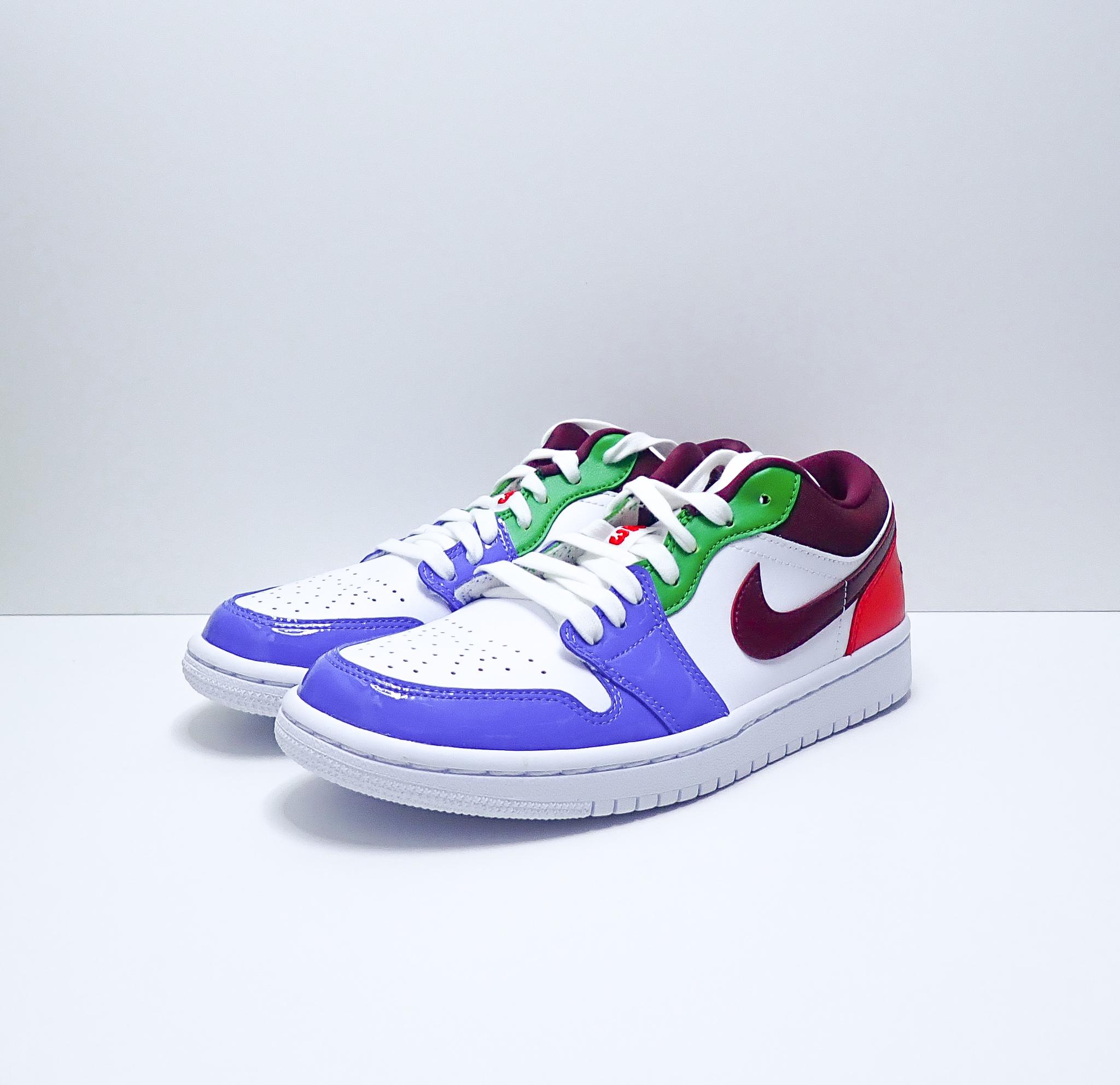 Jordan 1 Low W Multi Color
