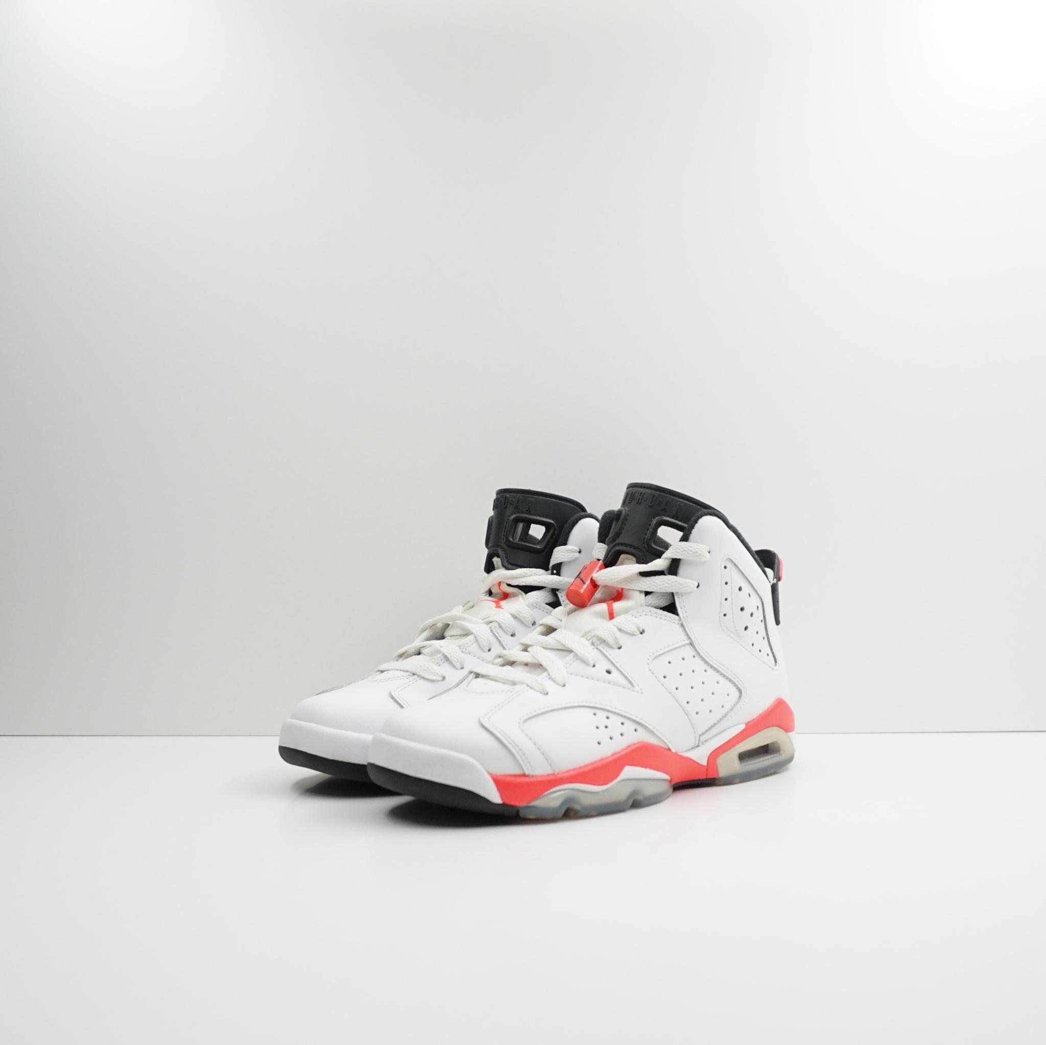 Jordan 6 Retro Infrared White 2014 (GS)