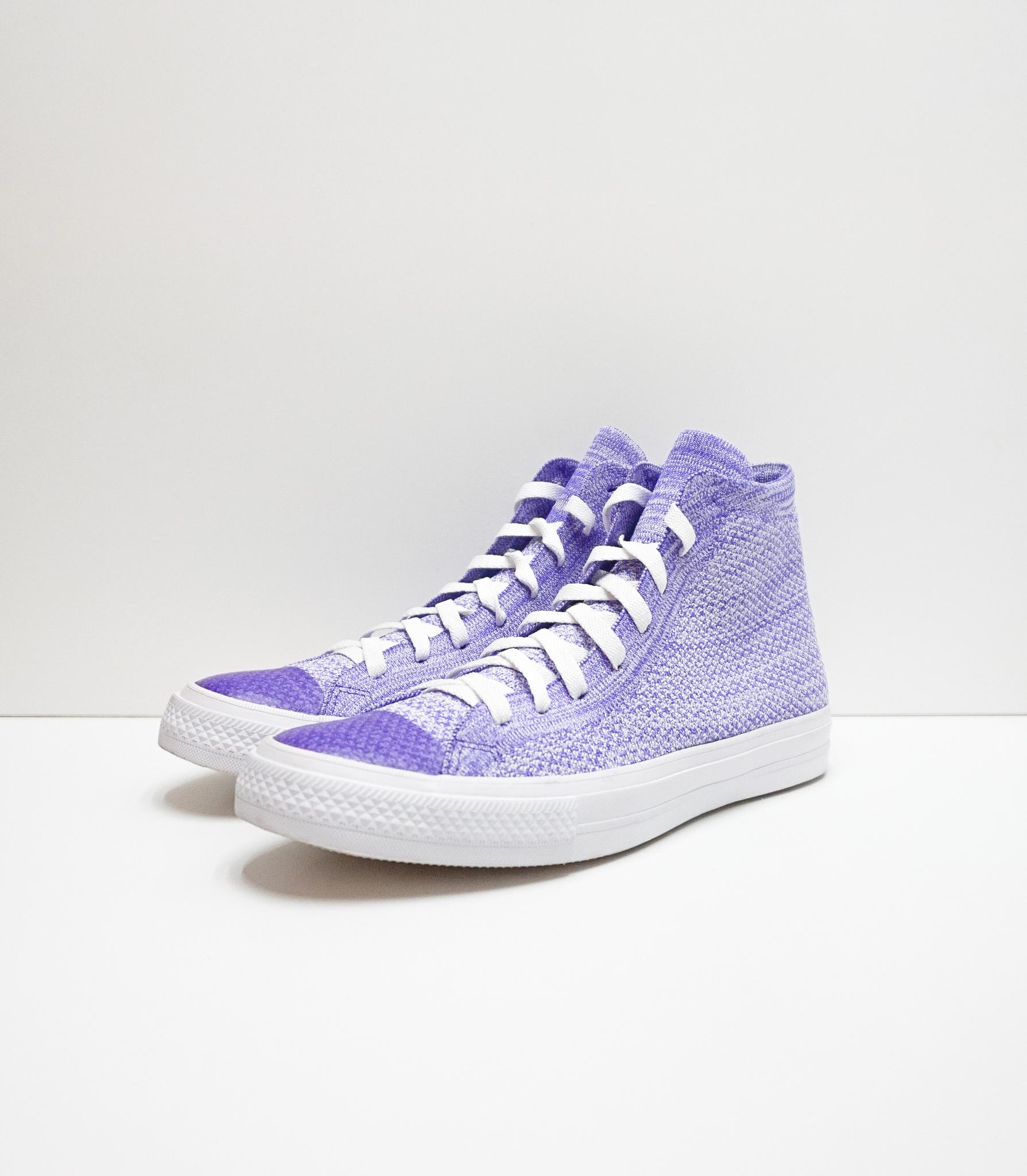 Nike x Chuck Taylor All Star Flyknit High 'Hyper Grape'