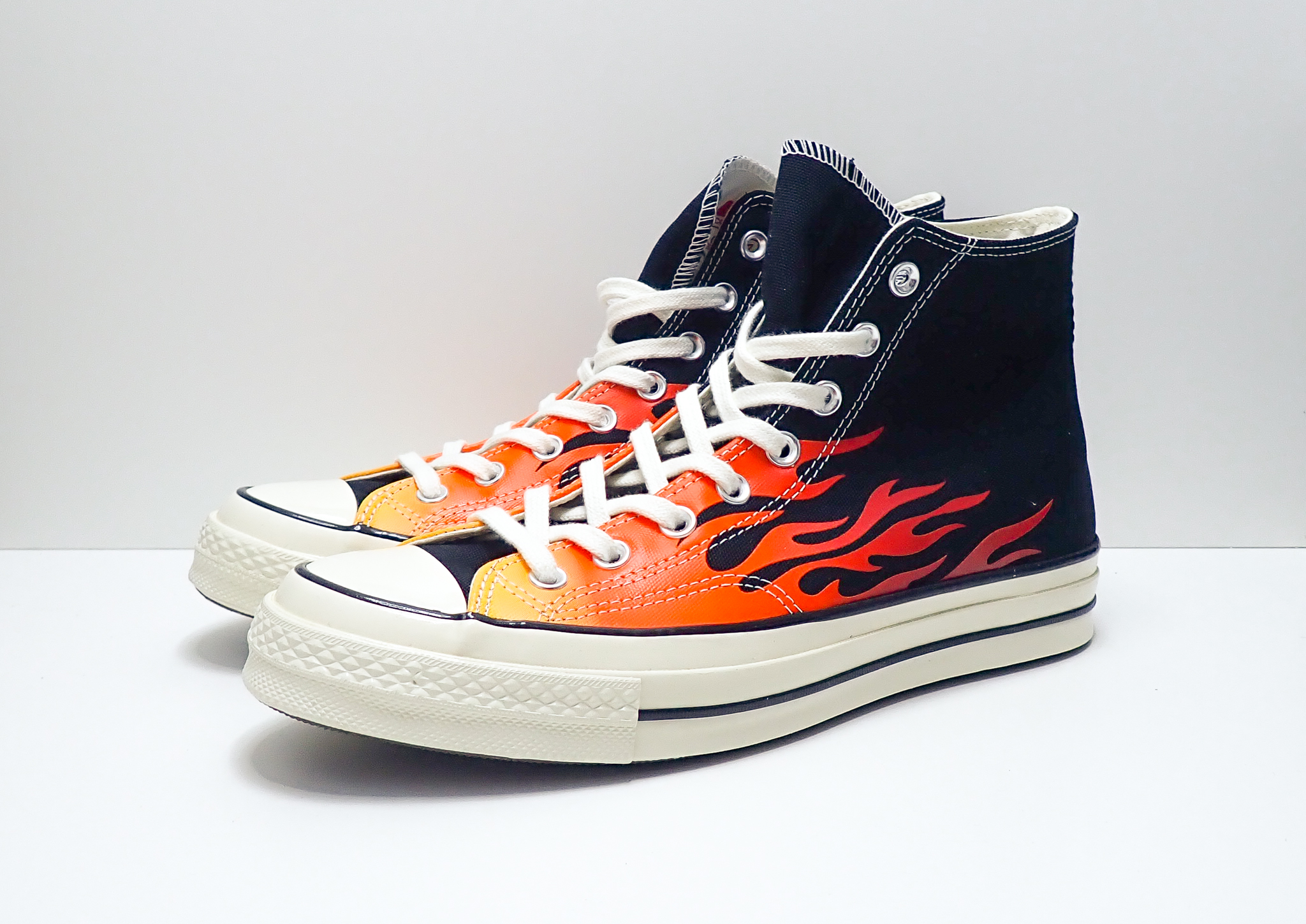 Converse Chuck Taylor All-Star 70s Hi Archive Print Flames