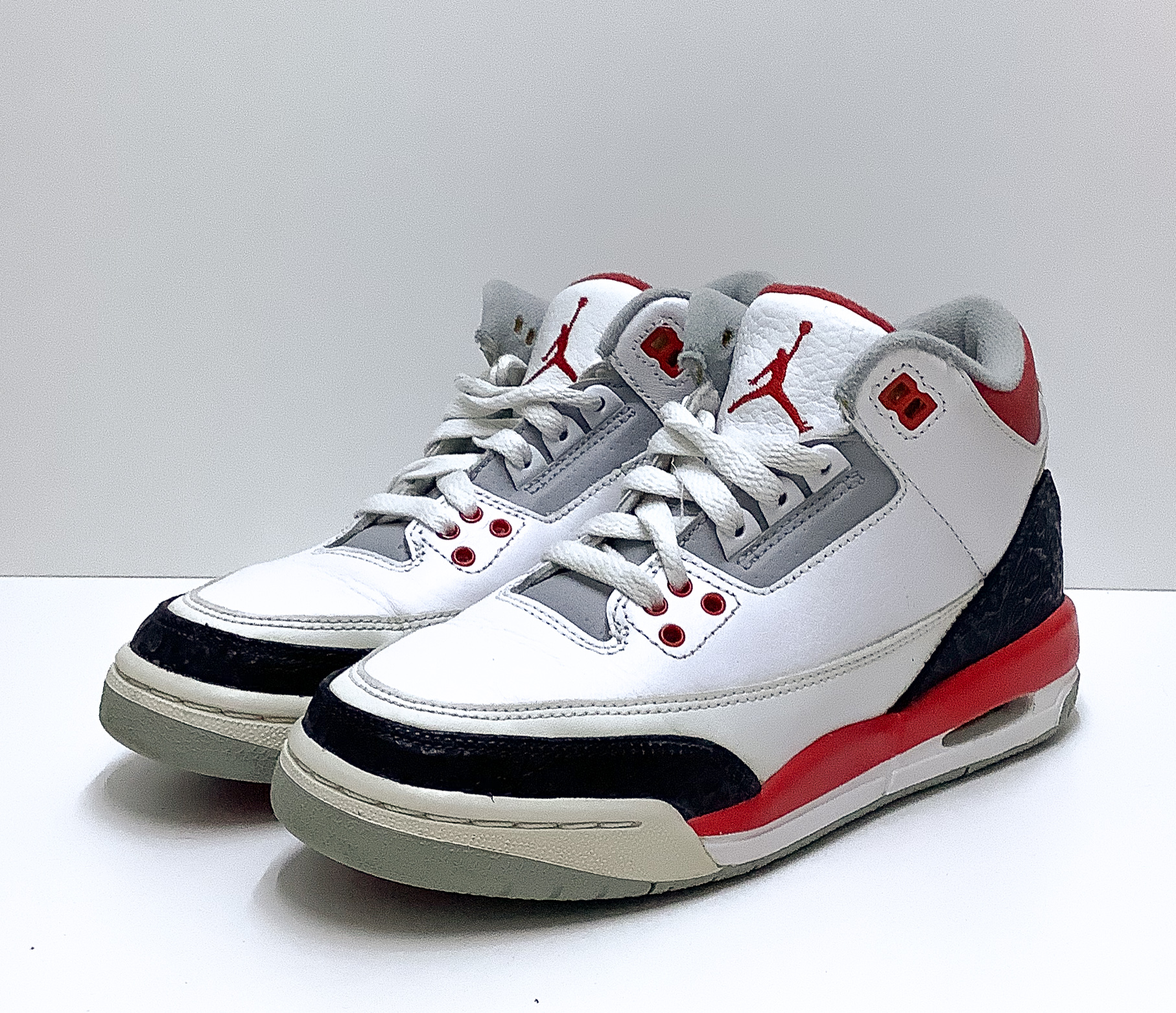 Jordan 3 Fire Red (GS)
