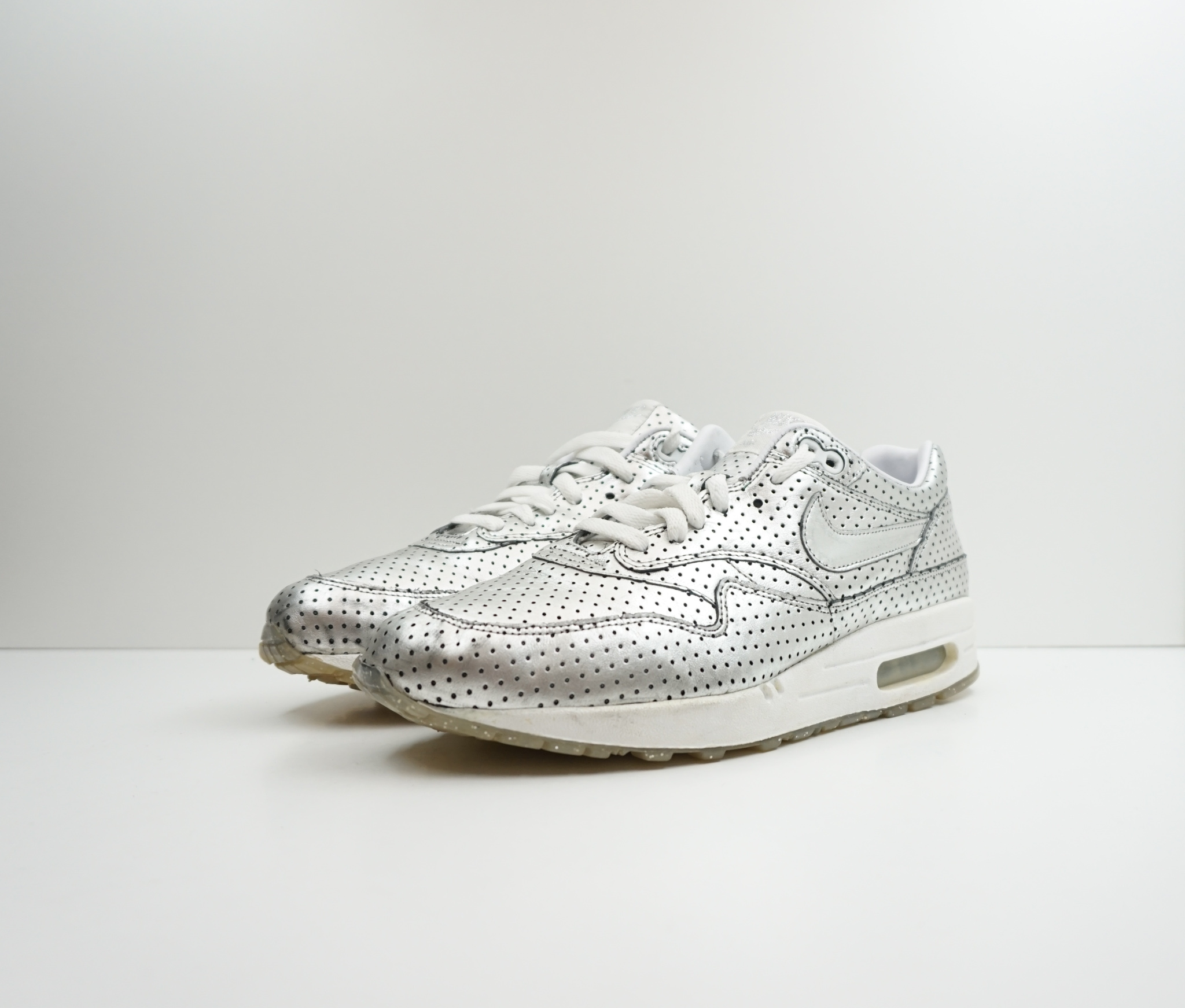 Nike Air Max 1 Premium 'Silver Foil Opening Ceremony'