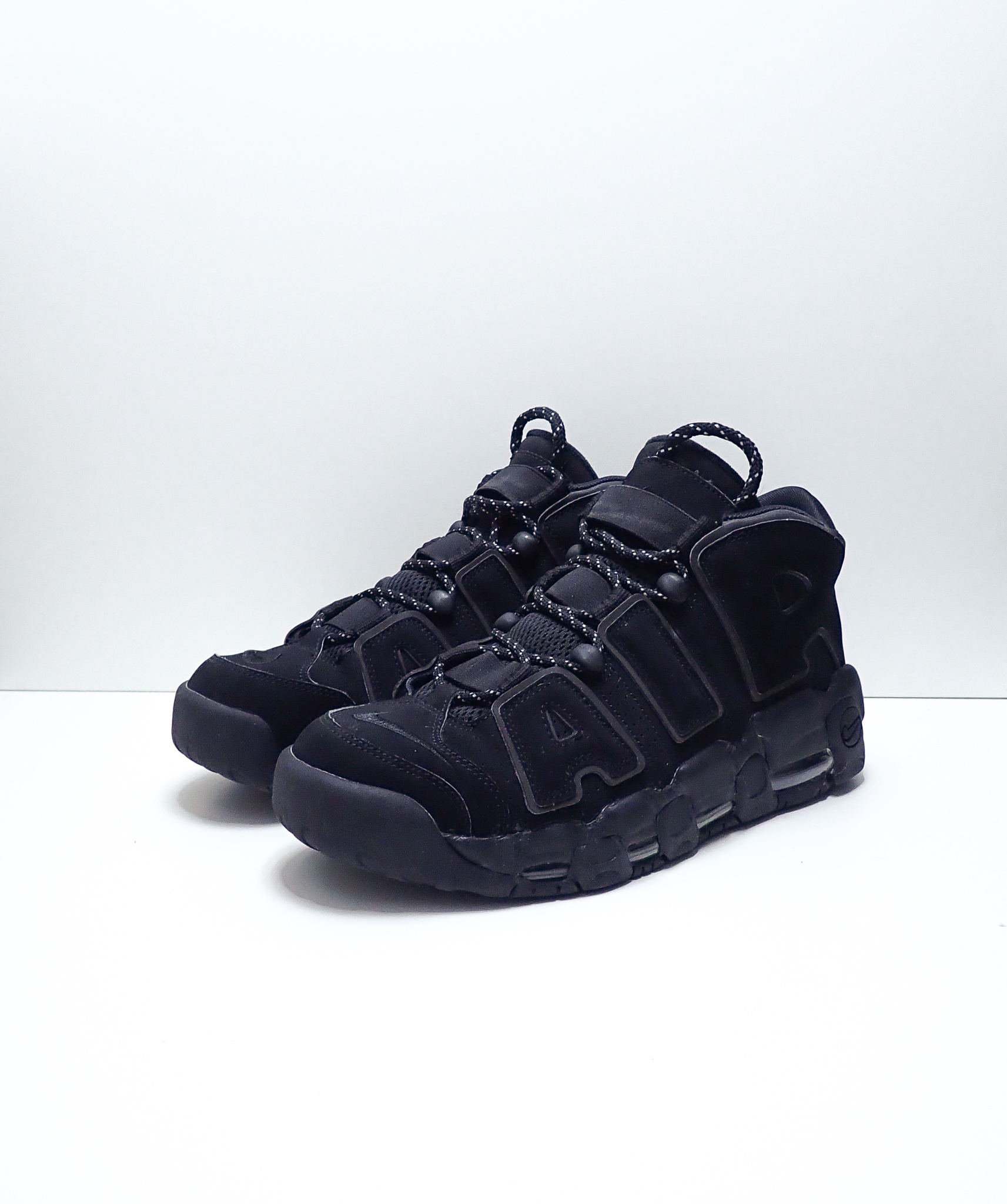 Nike Air More Uptempo Black Reflective (2018)