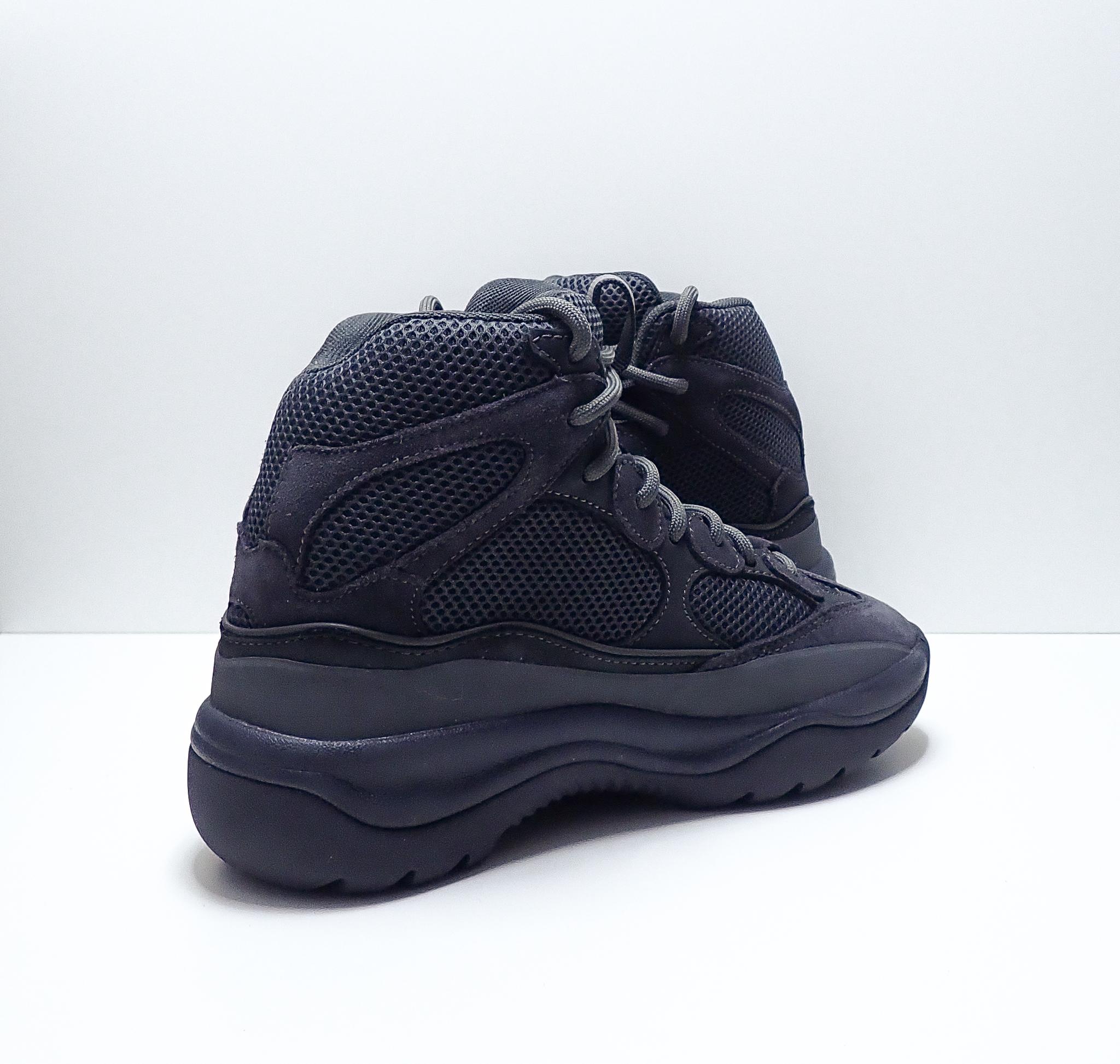 Yeezy Season 6 Suede Desert Boot Graphite