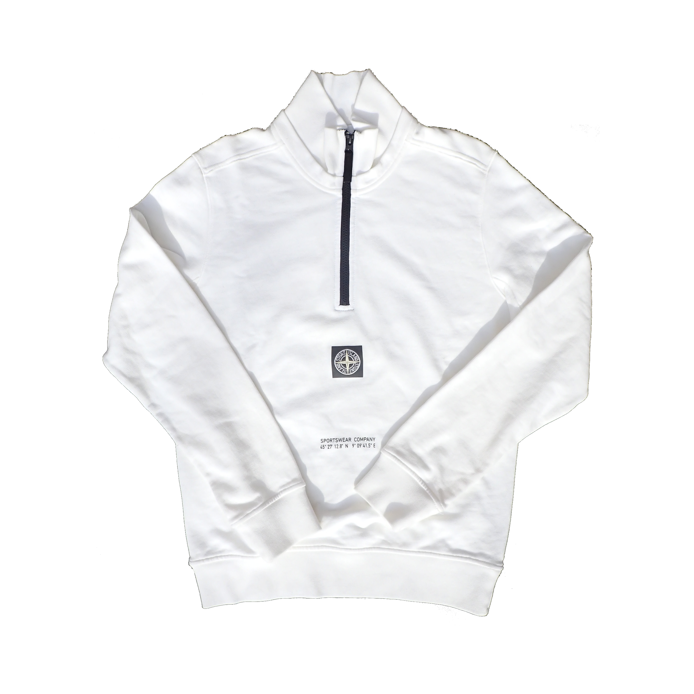 Stone Island Half Zipper Sweatshirt