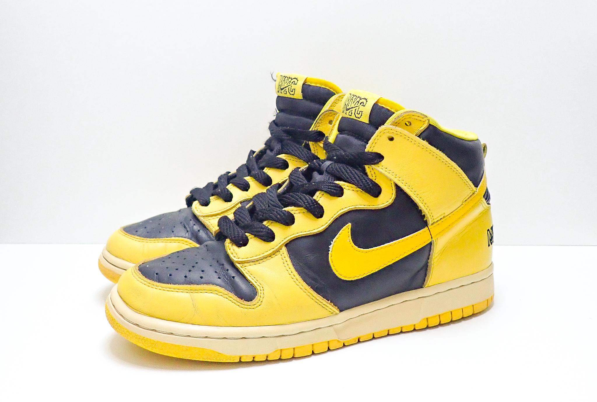Nike Dunk High Le Goldenrod NYC