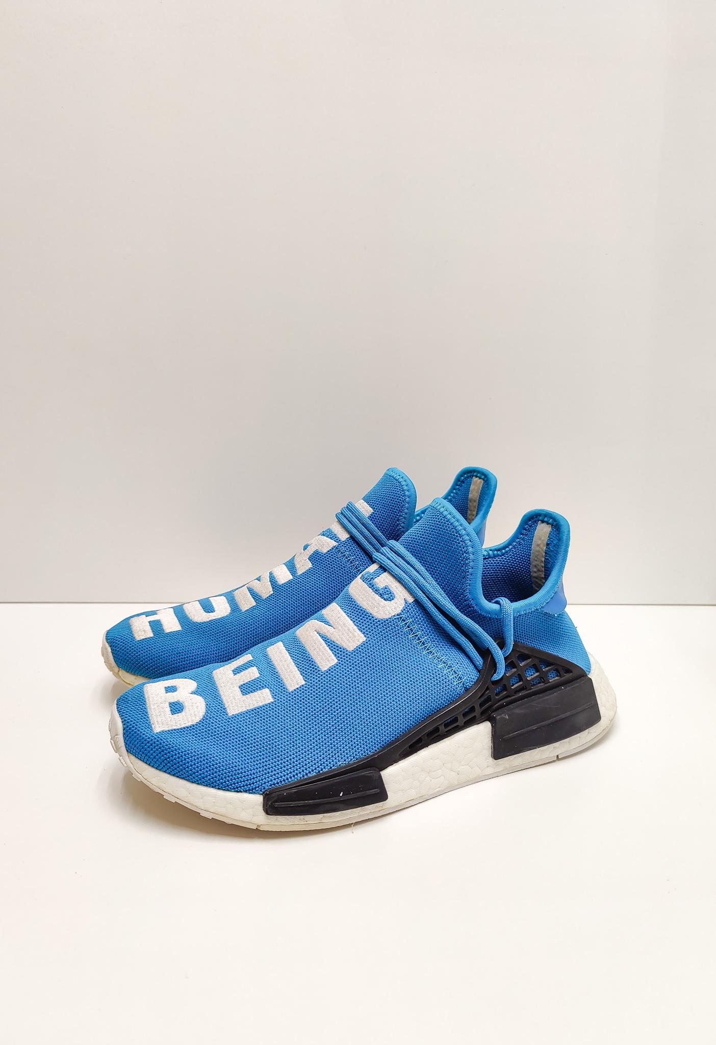 Adidas NMD HU Pharrell Human Being Sharp Blue