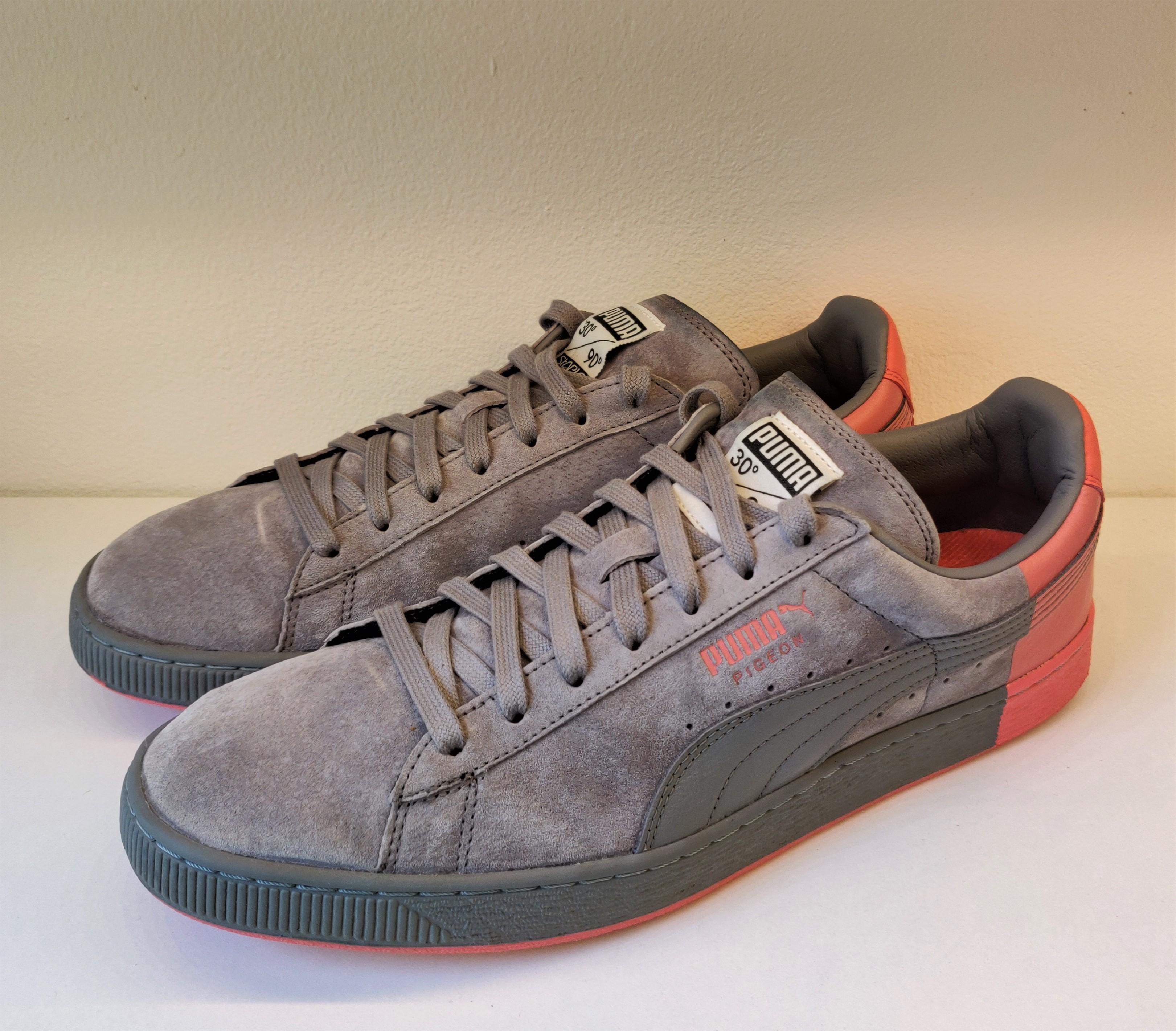 Puma Suede X Staple Frost Grey
