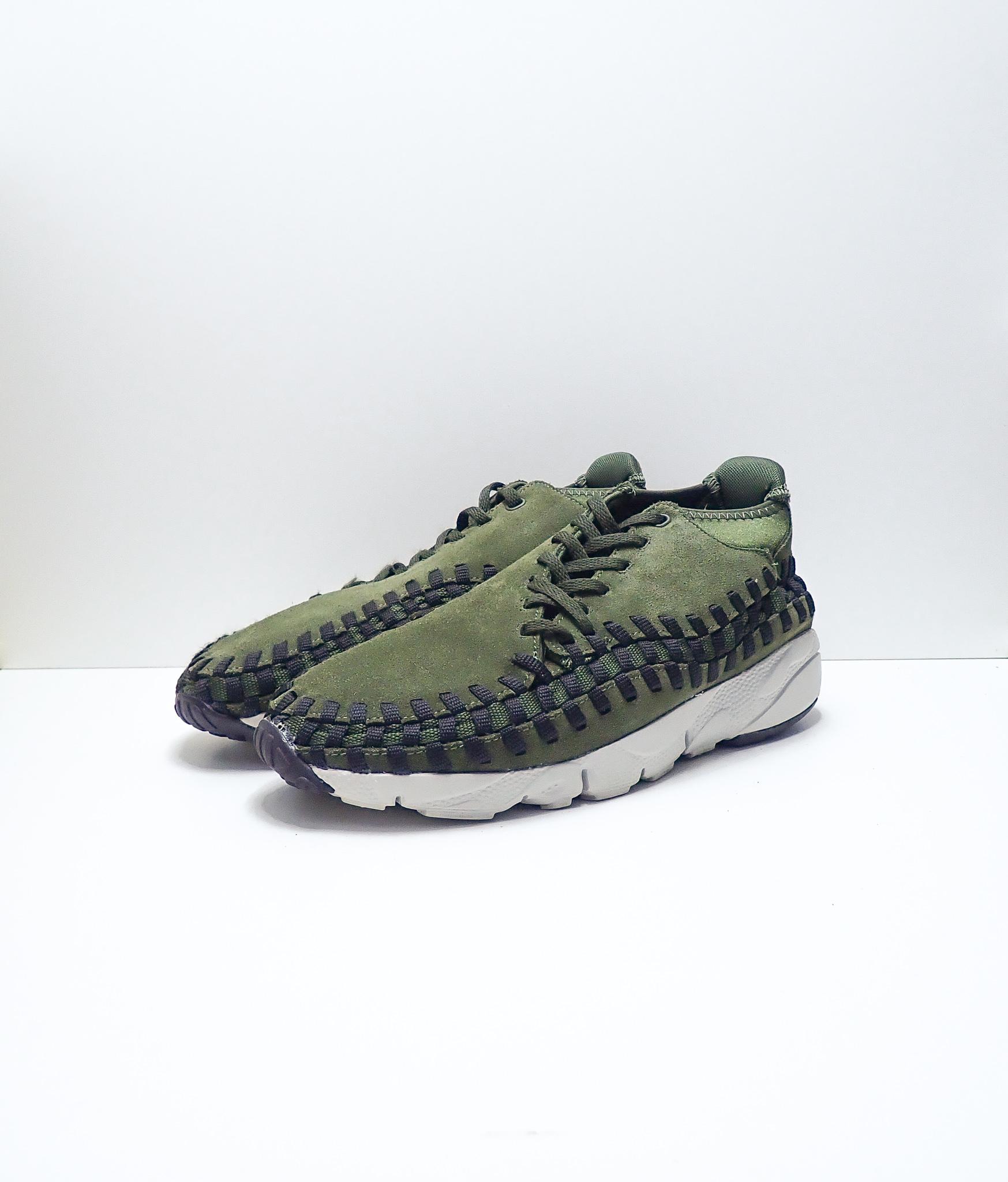 Nike Air Footscape Woven Chukka Green