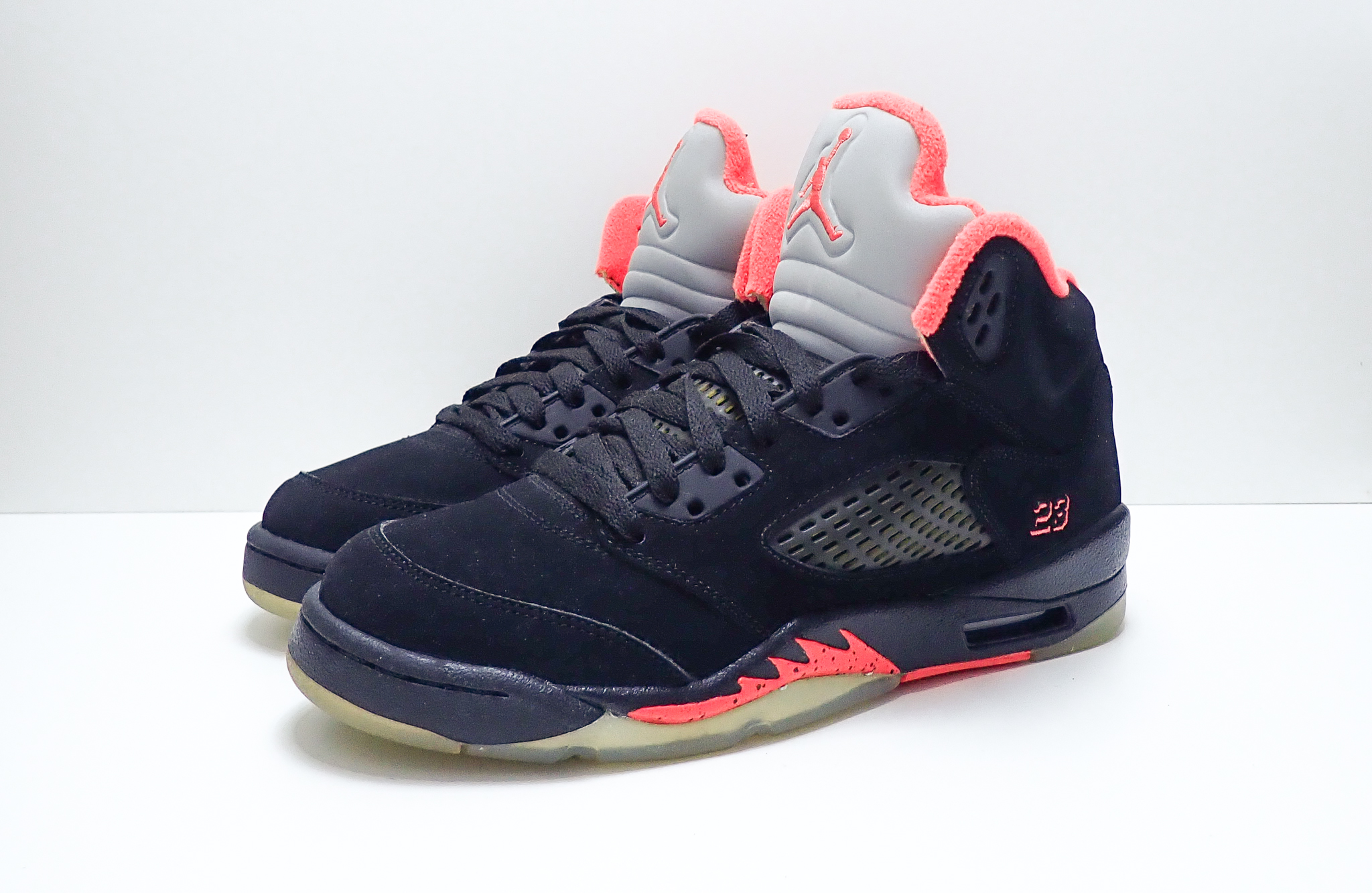 Jordan 5 Retro Black Alarming (GS)