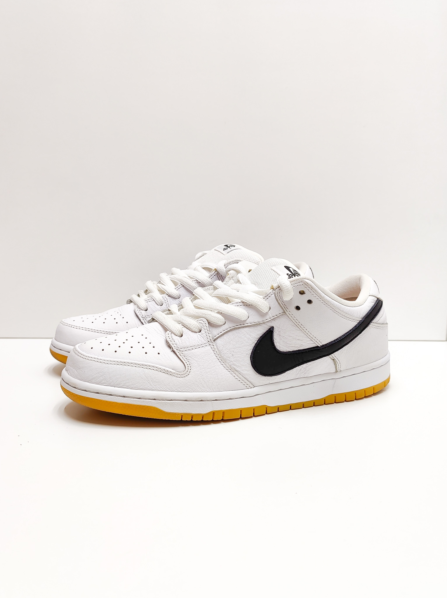 Nike SB Dunk Low Orange Label White