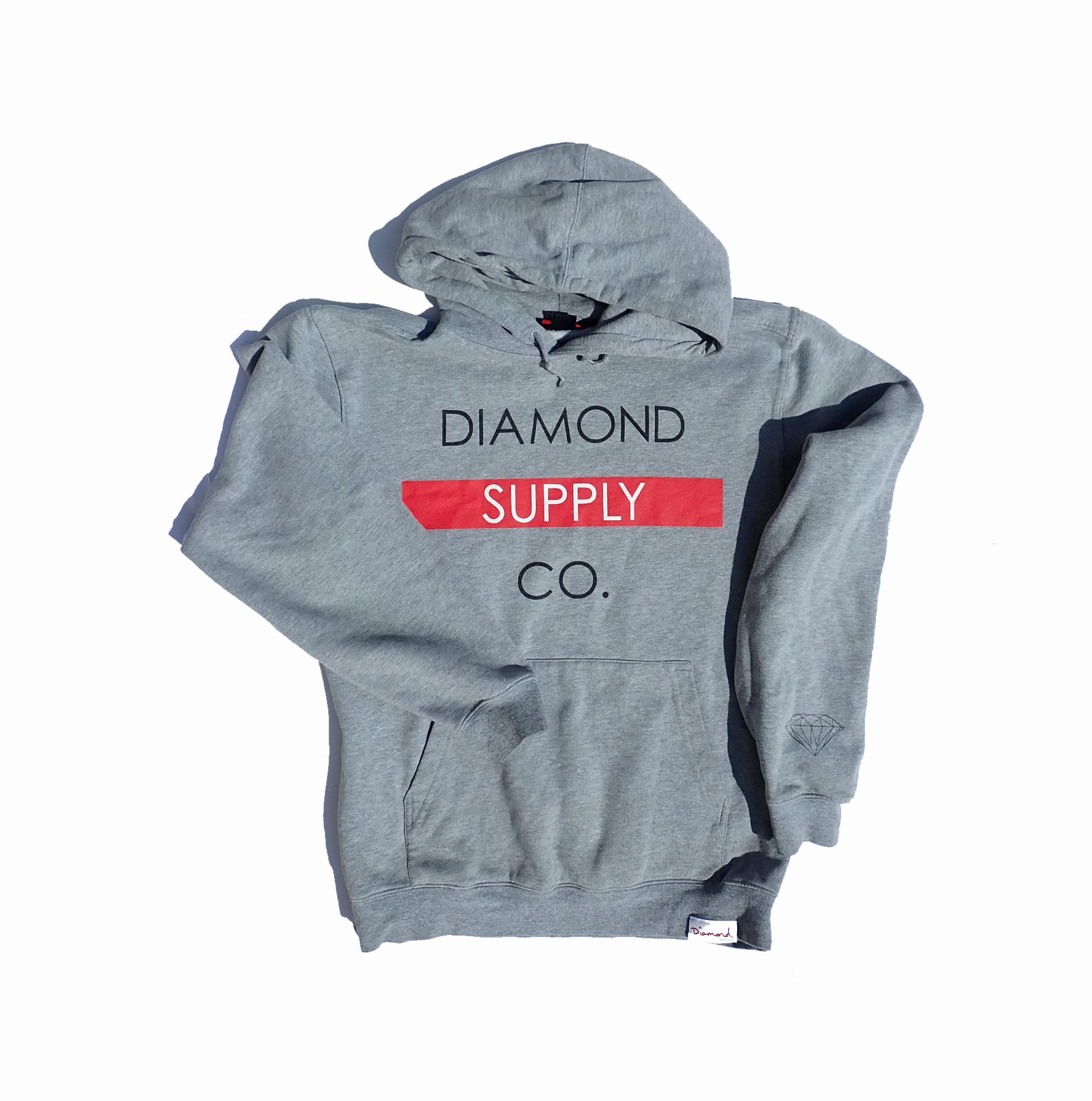 Diamond Supply Co. Grey Hoodie