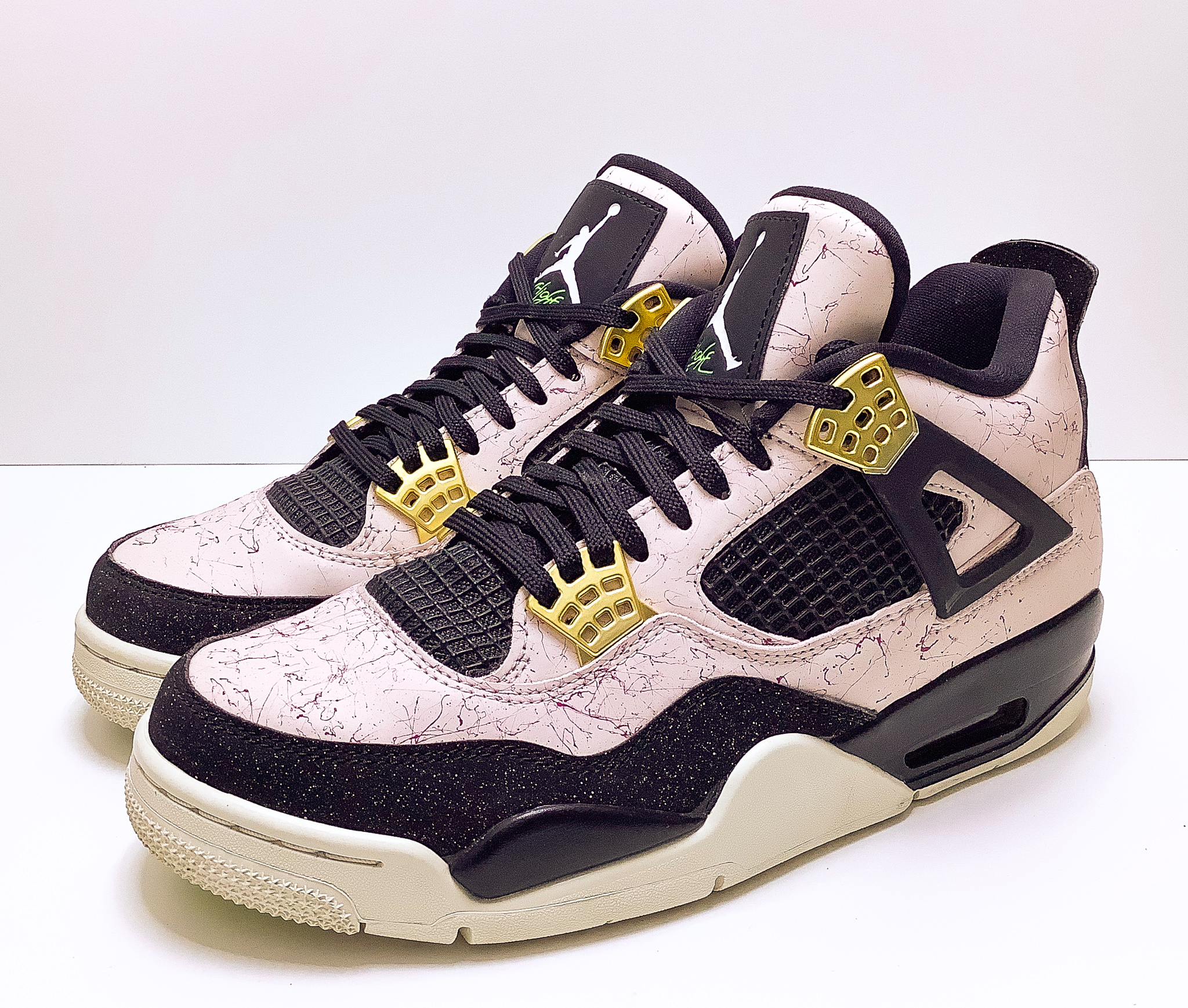 Jordan 4 Retro Silt Red Splatter (W)