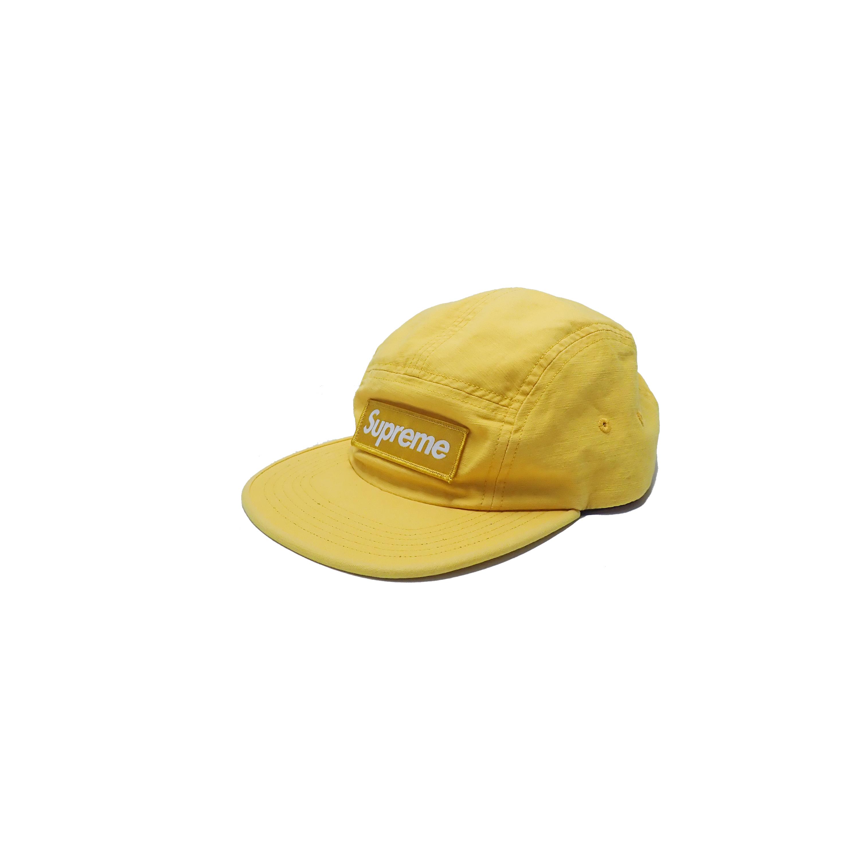 Supreme 5 Panel Camp Cap Yellow