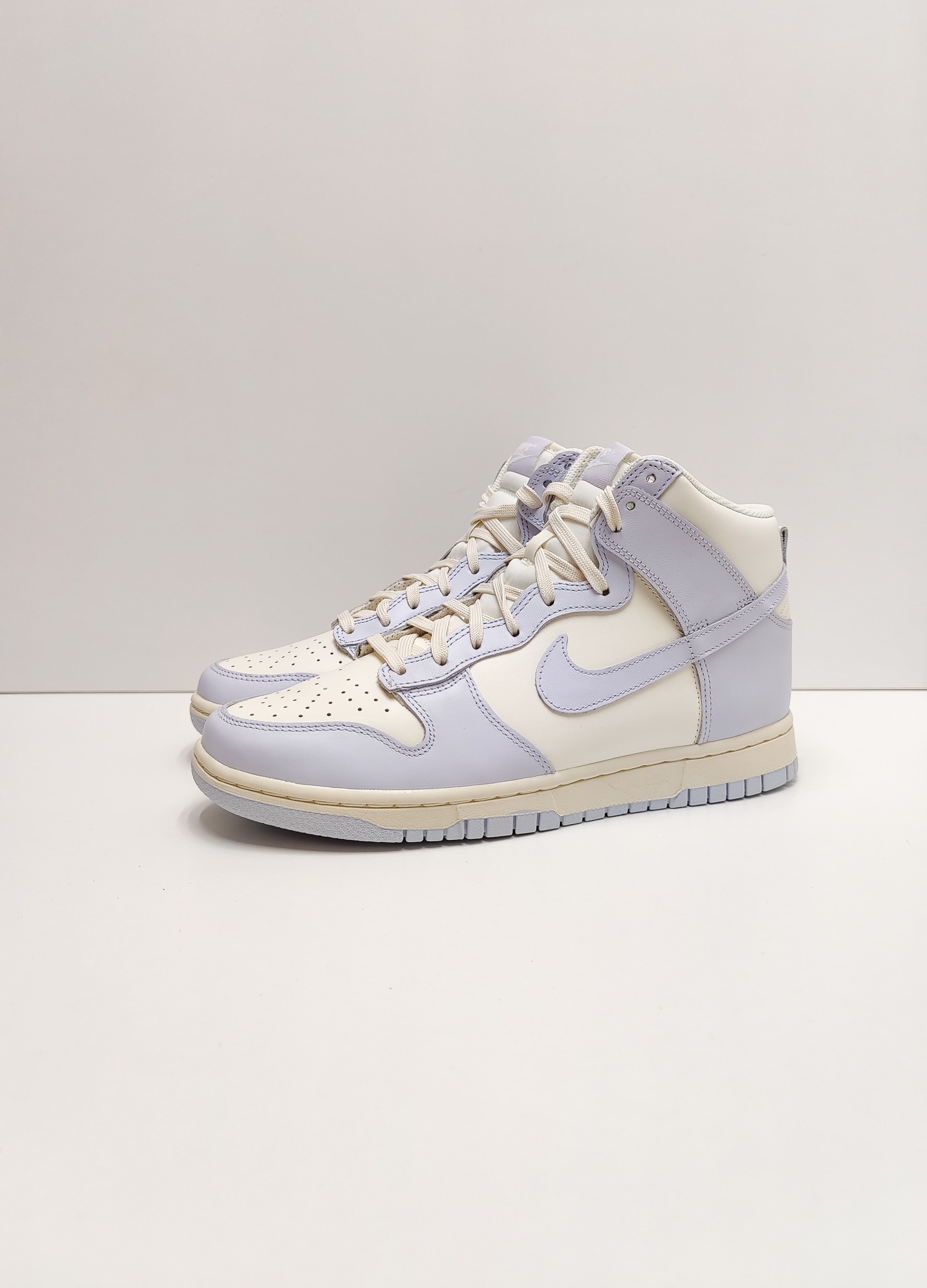 Nike Dunk High Sail Football Grey (W)
