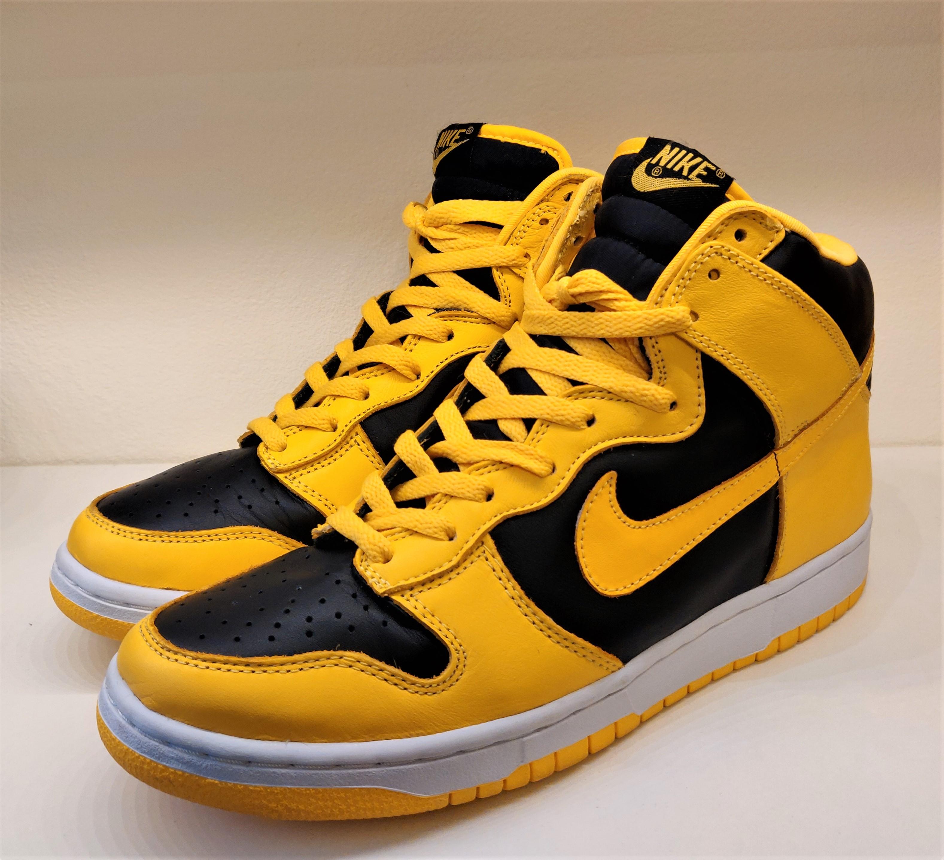 Nike Dunk Goldenrods
